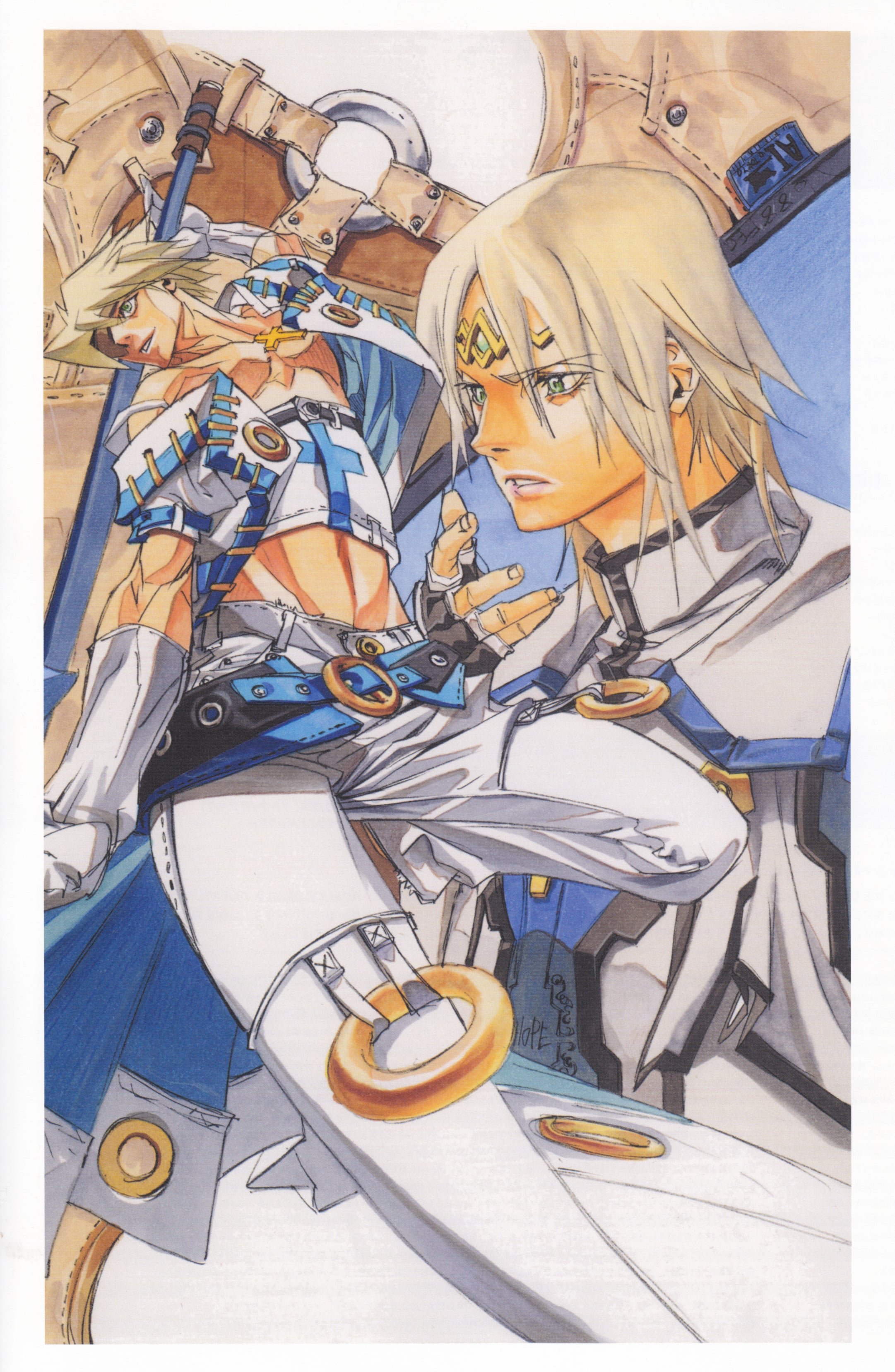 Guilty Gear: Sin Kiske Wallpapers hd