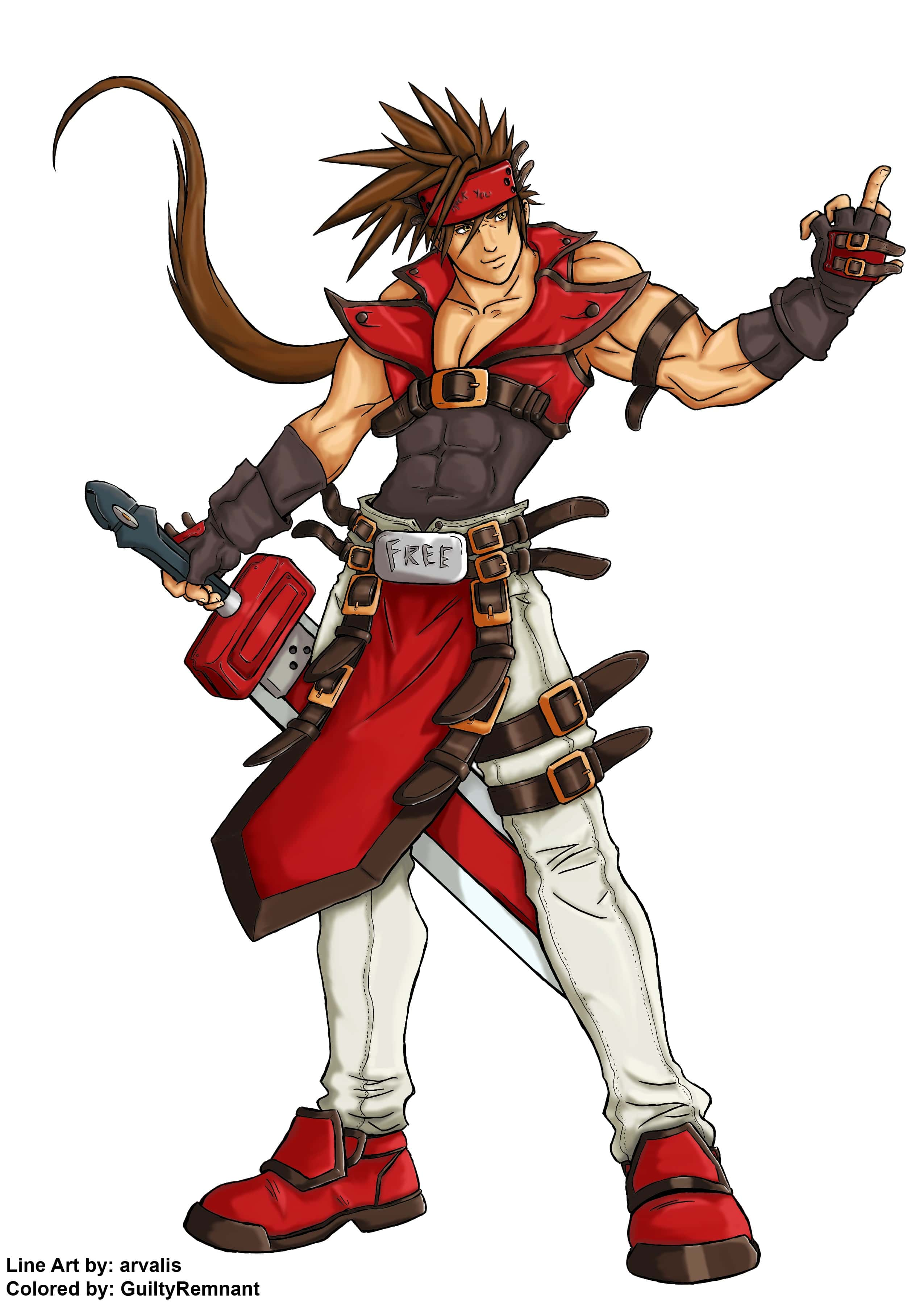 Guilty Gear: Sol Badguy Pictures