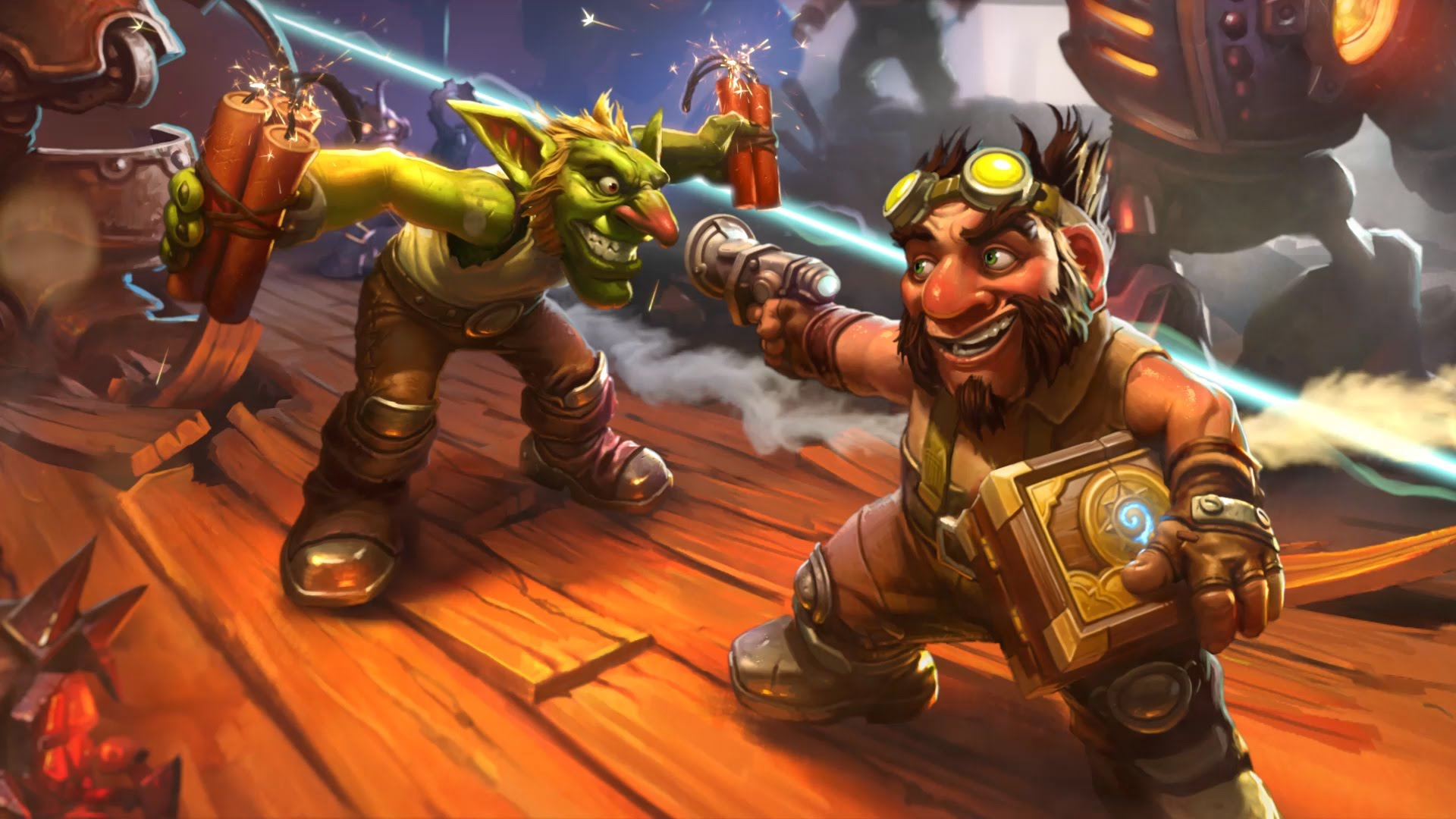 Hearthstone: Goblins Vs. Gnomes Pictures