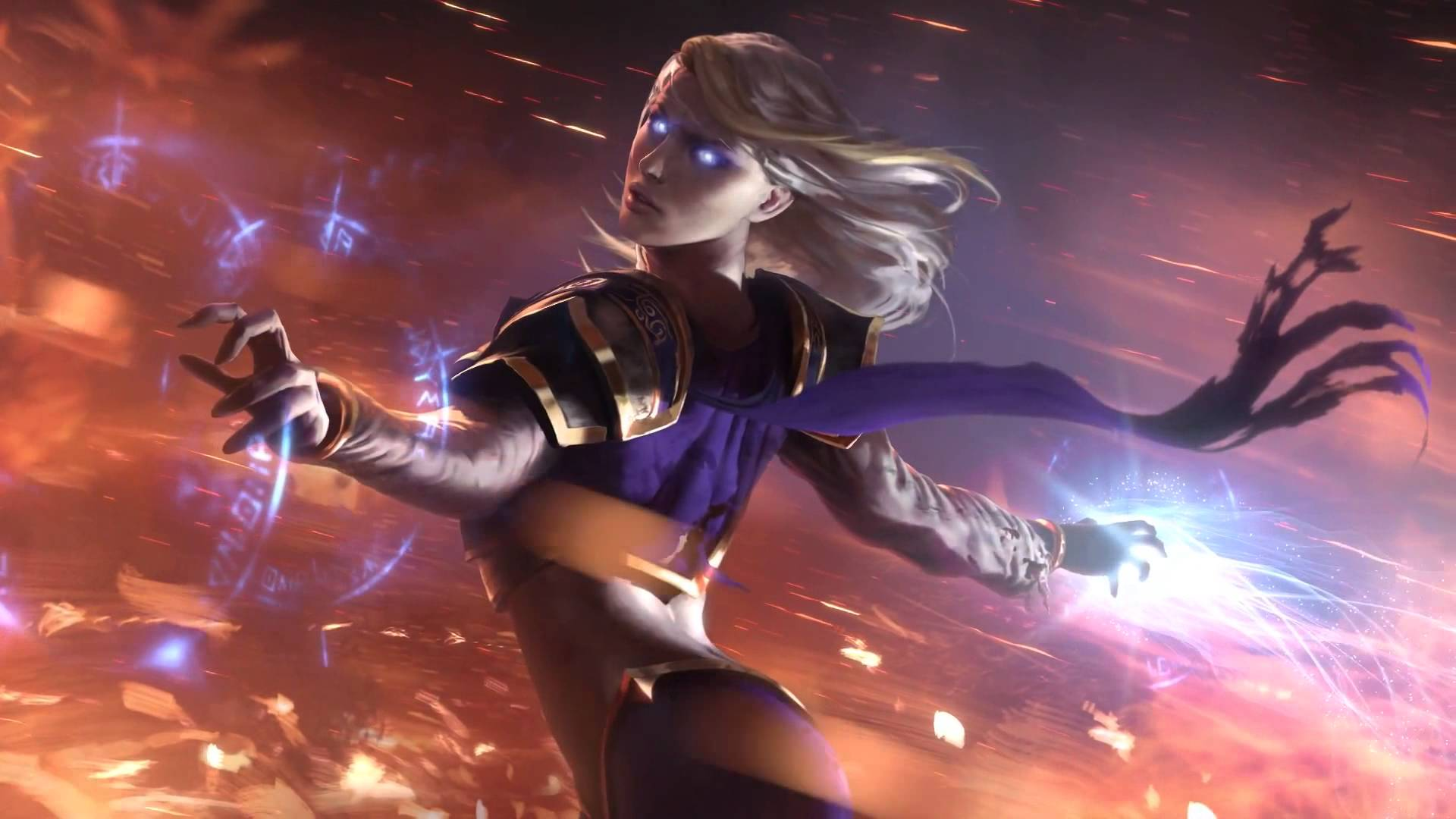Hearthstone: Jaina Proudmoore Background