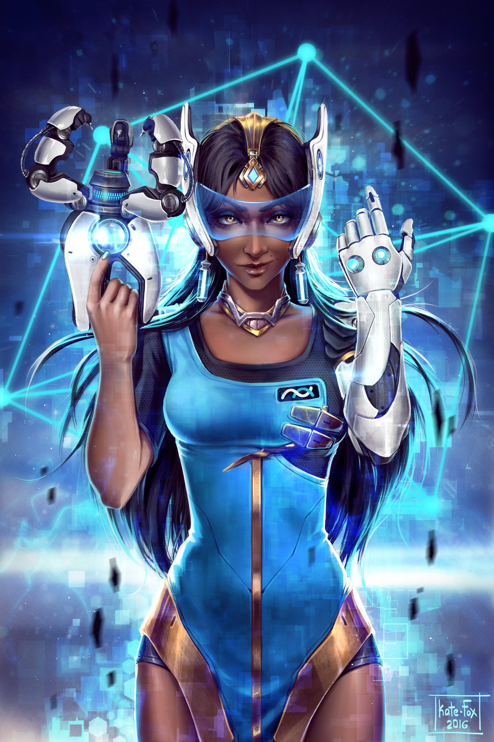 Overwatch : Symmetra Pictures