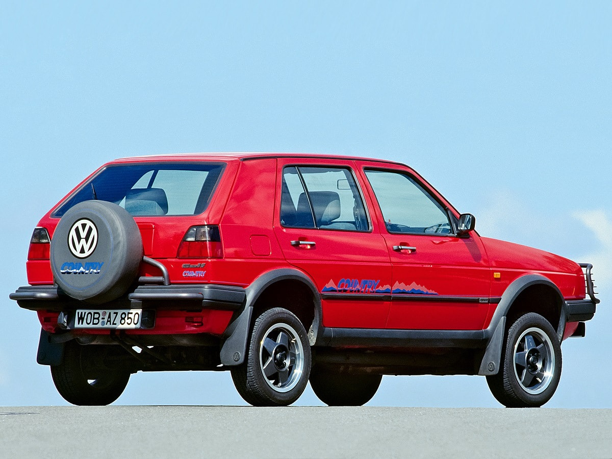 Volkswagen Golf Country Pictures