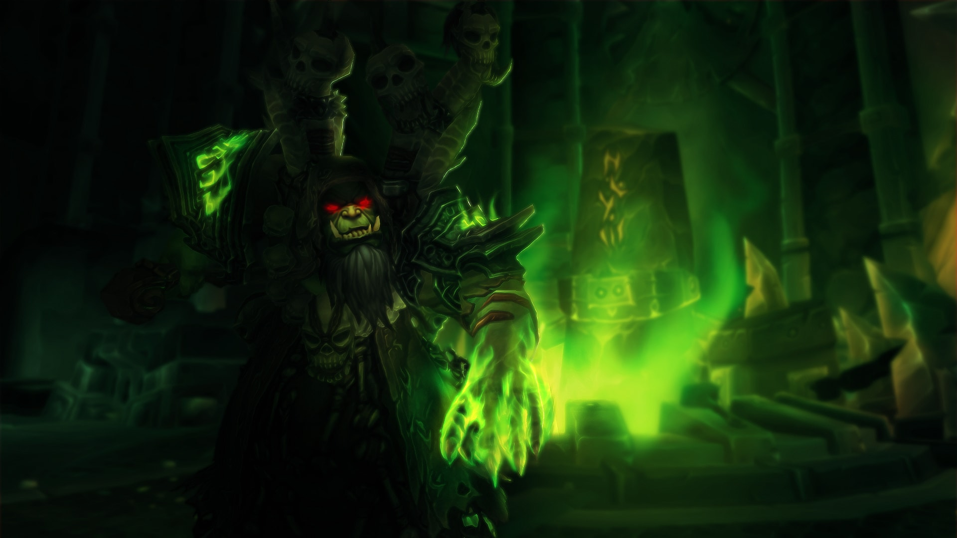 WOW: Gul'dan Desktop wallpapers