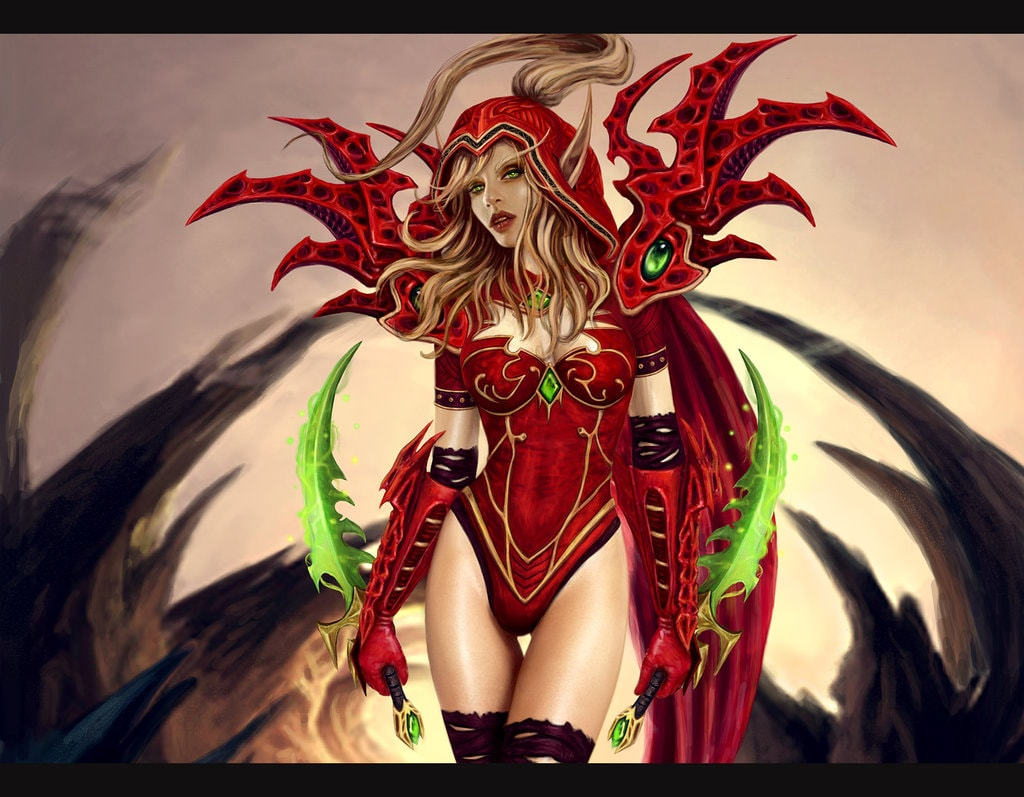 WOW: Valeera Sanguinar Pictures