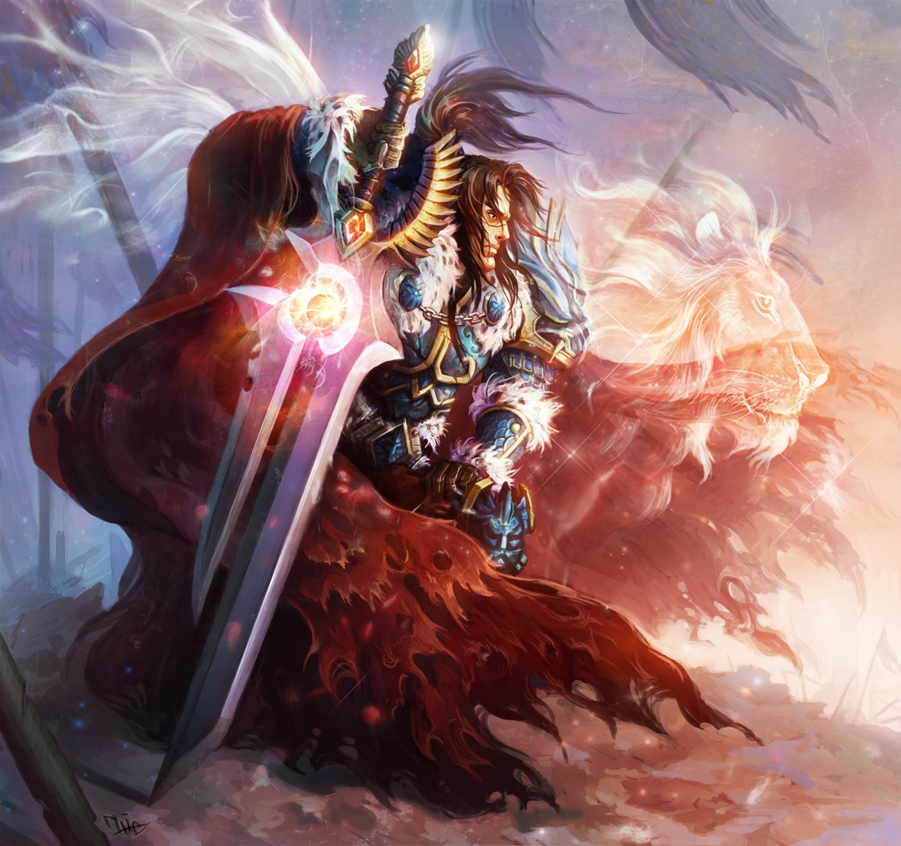 WOW: Varian Wrynn Wallpapers hd