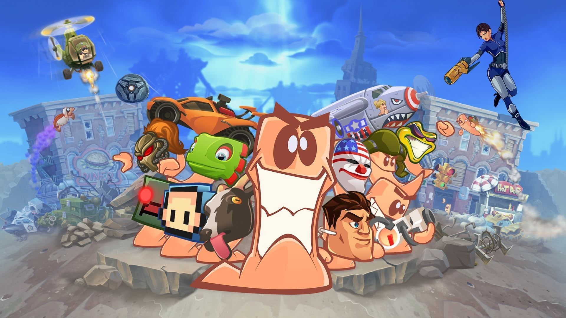 Worms W.M.D Pictures