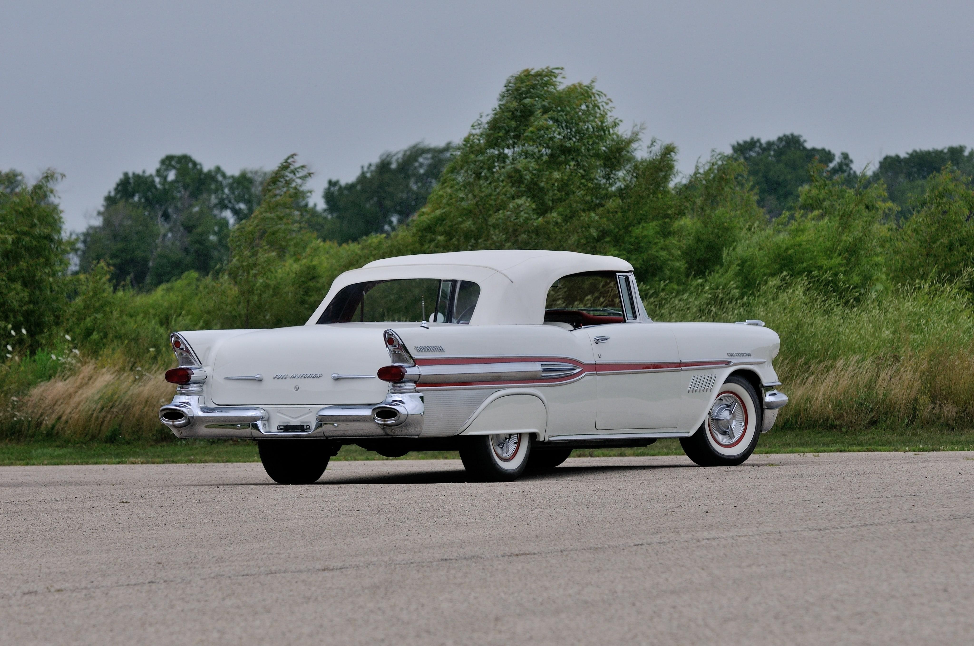 1957 Pontiac Star Chief Custom Bonneville HQ wallpapers