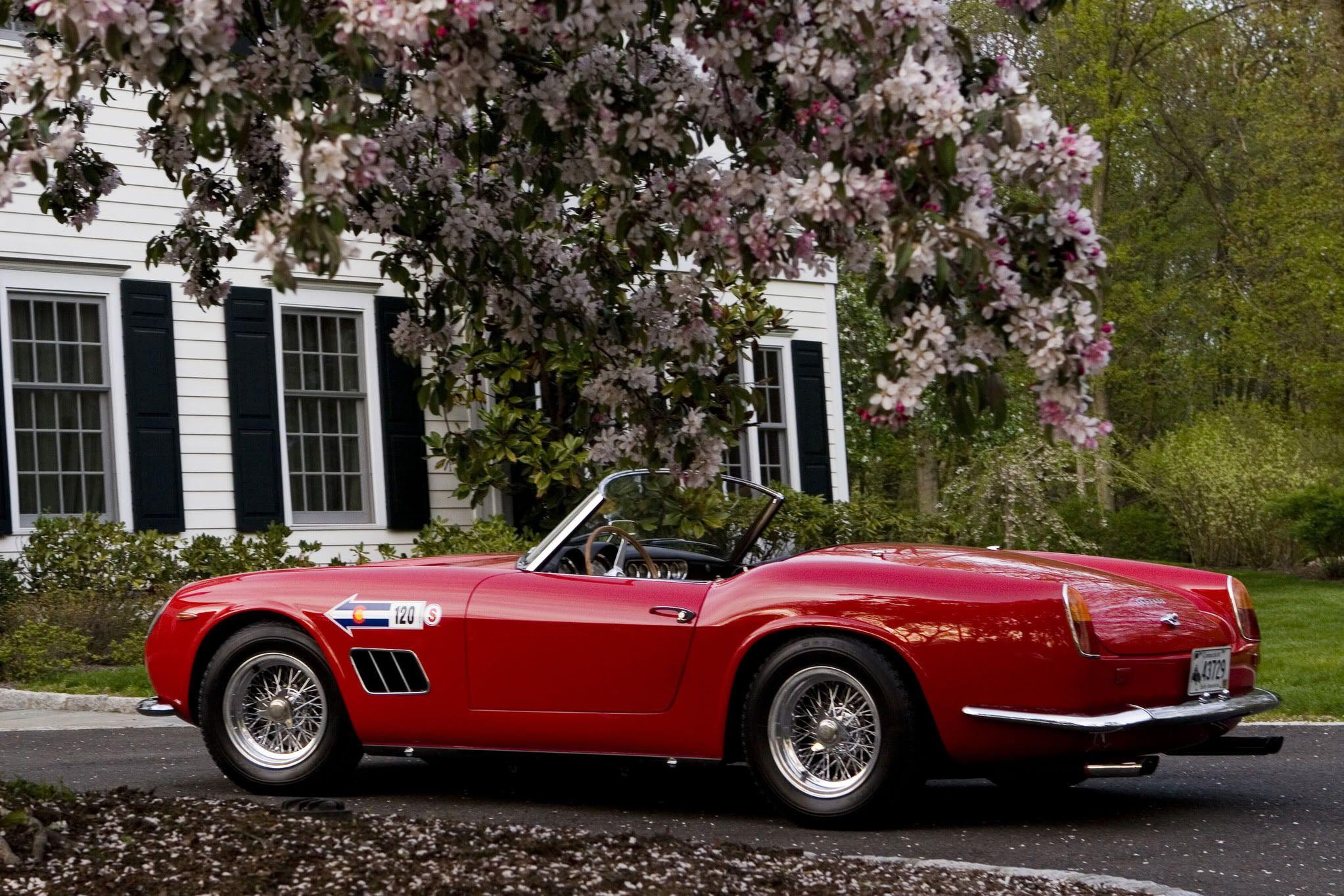 1961 Ferrari 250 Gt California Hd Wallpapers 7wallpapers Net