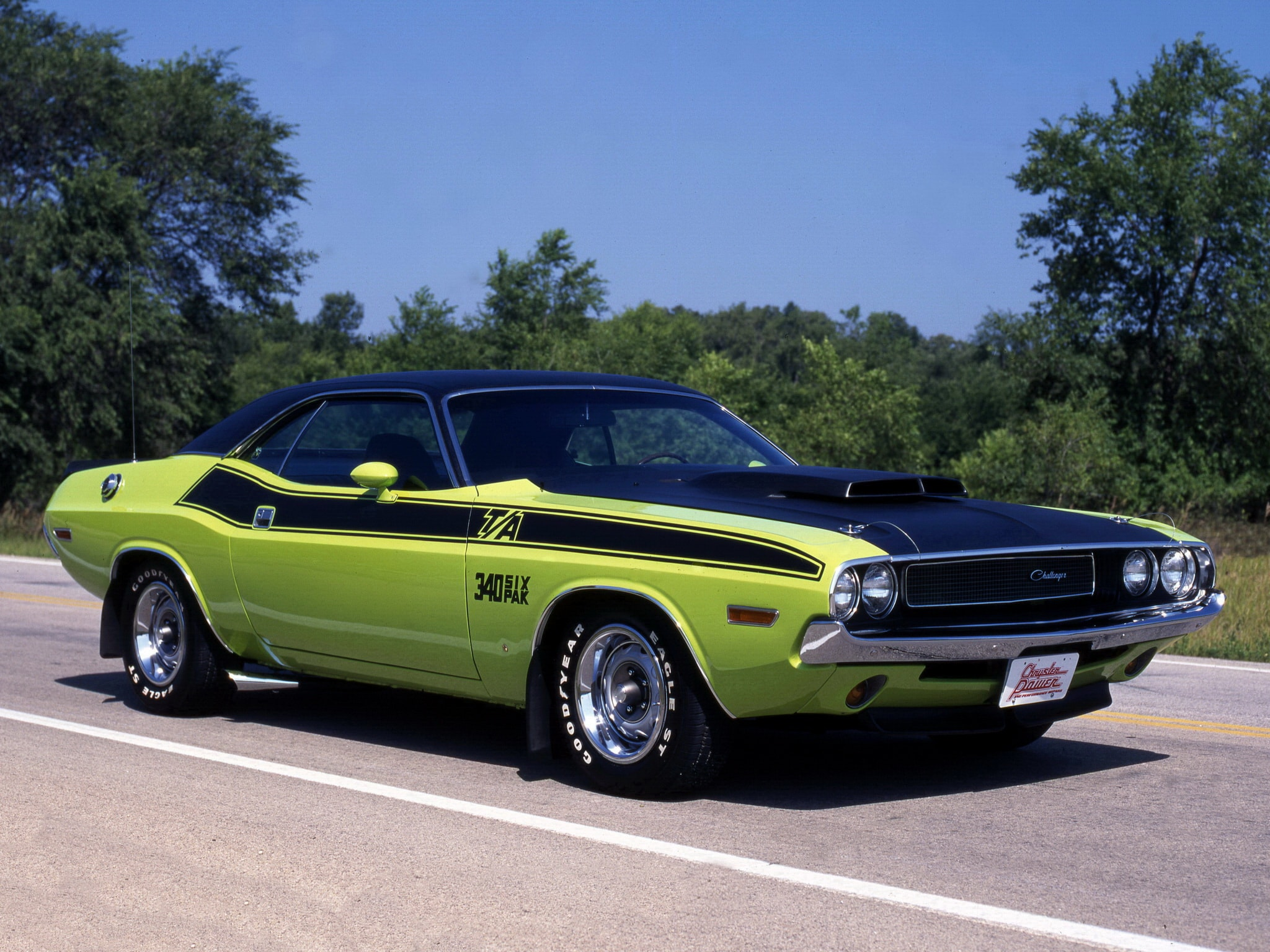 1970 Dodge Challenger T/A HQ wallpapers