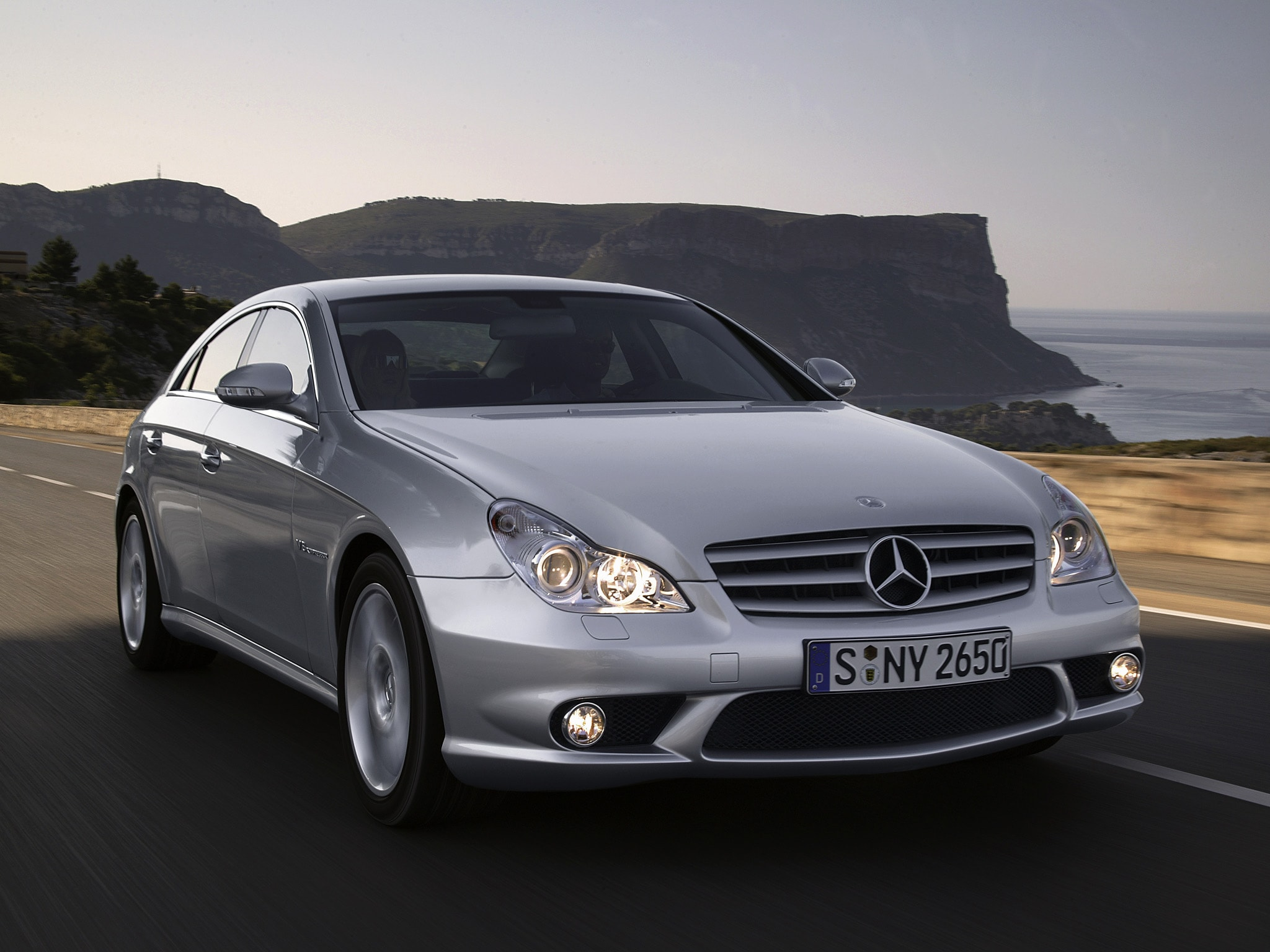 2005 Mercedes-Benz CLS HQ wallpapers