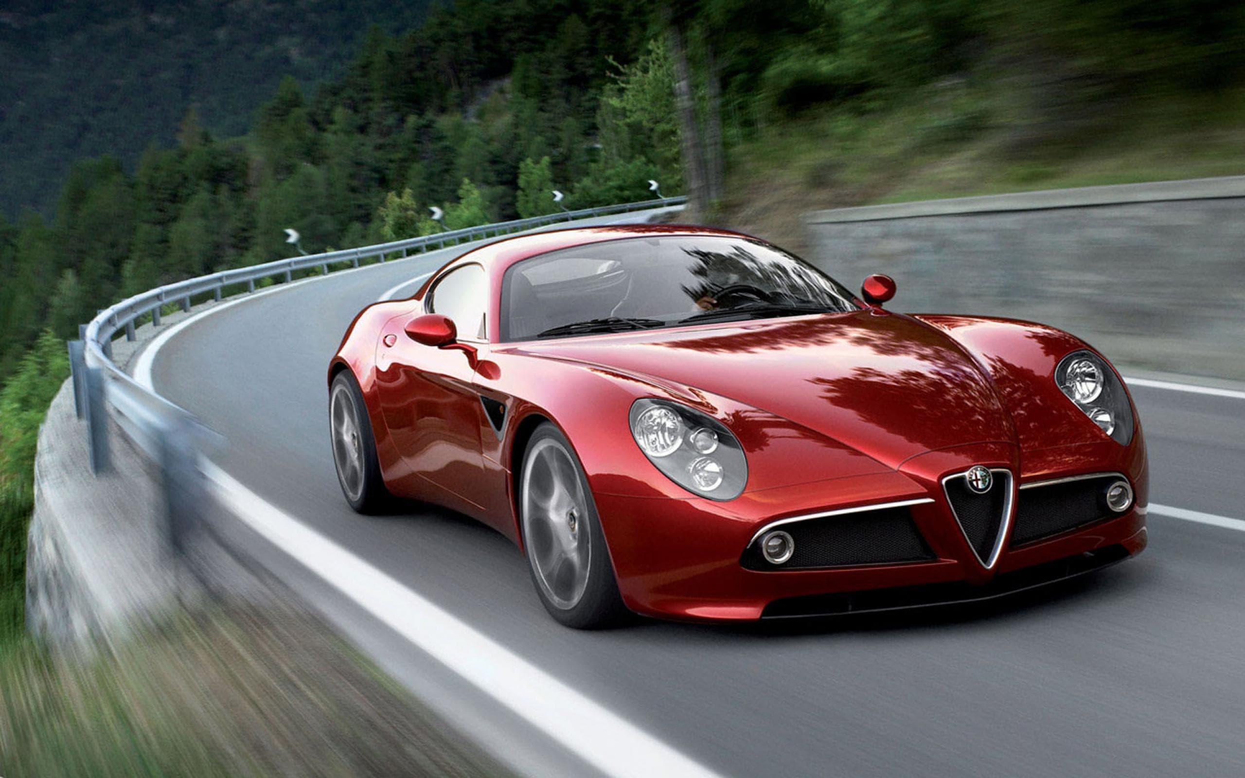 Alfa Romeo 8c HQ wallpapers