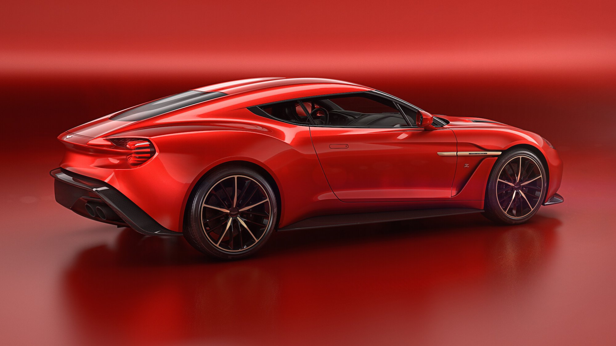 Aston Martin Vanquish Zagato Backgrounds