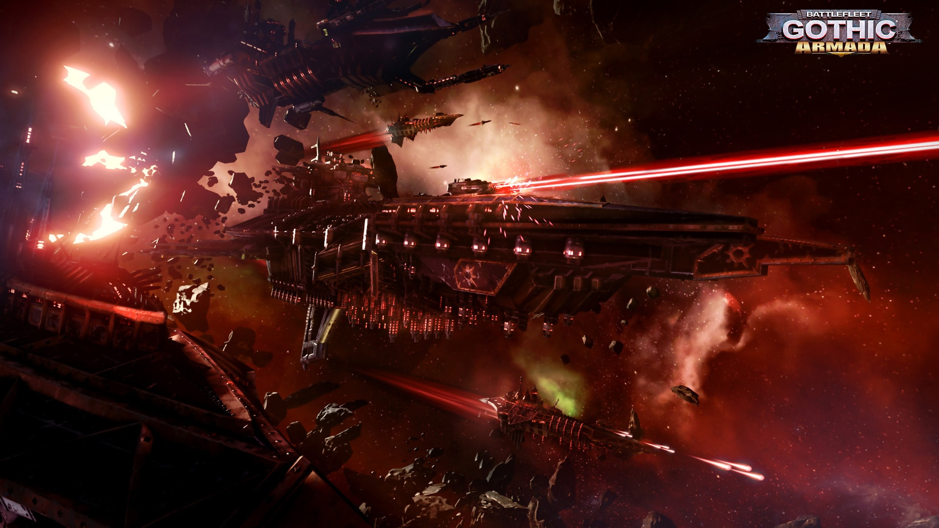 Battlefleet Gothic: Armada HQ wallpapers