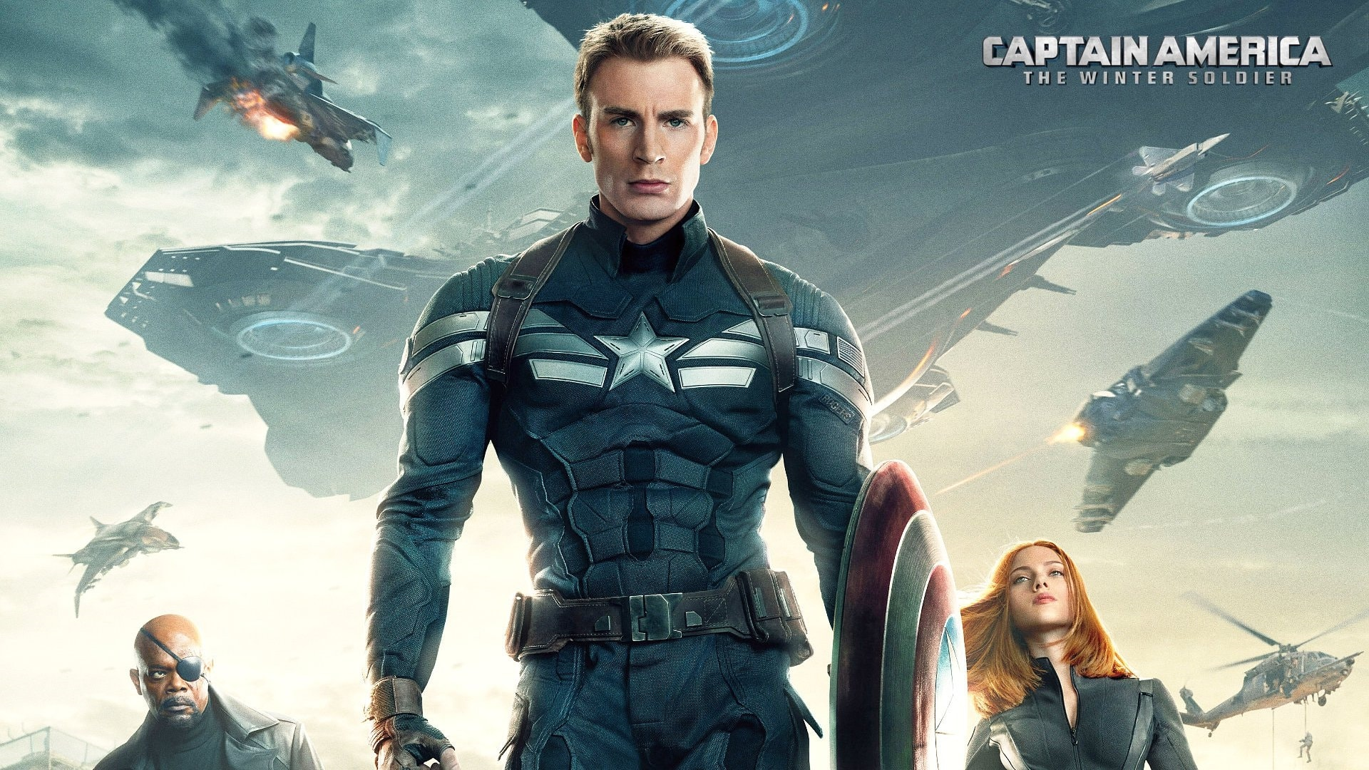 Captain America: The Winter Soldier HQ wallpapers