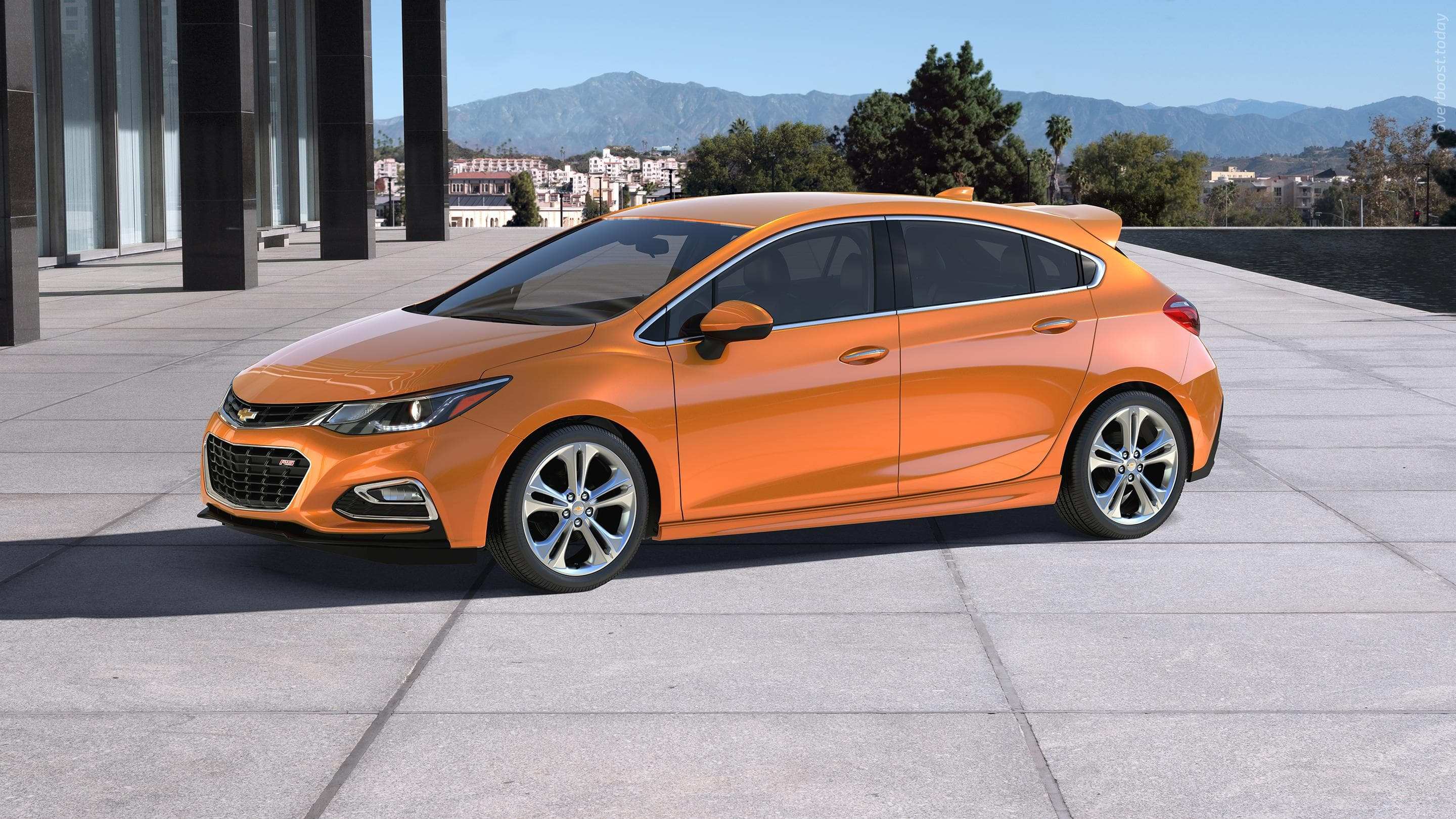 Chevrolet Cruze 2 Hatchback HQ wallpapers