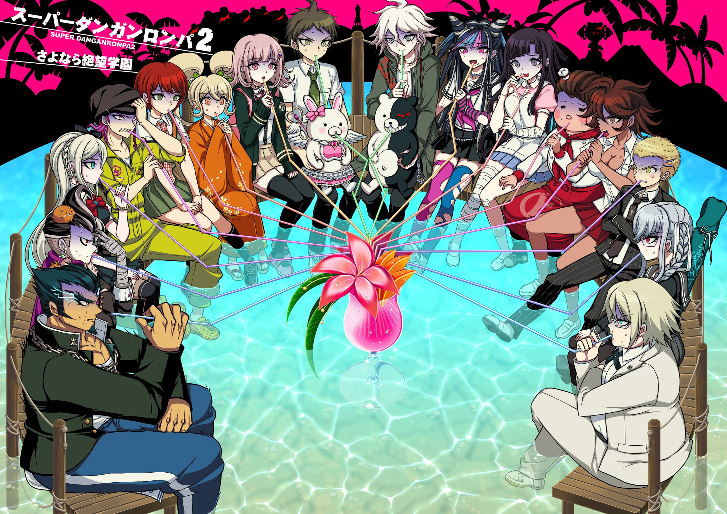 Danganronpa 2 Goodbye Despair Hd Wallpapers 7wallpapers Net