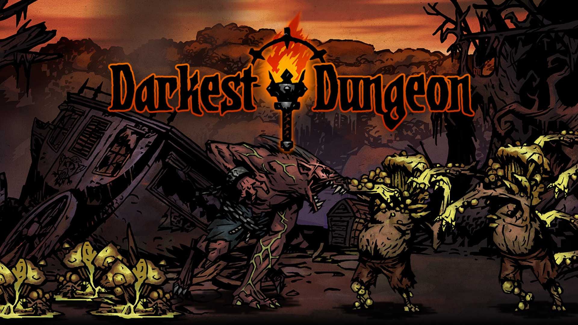 Darkest Dungeon: Abomination Wallpapers hd