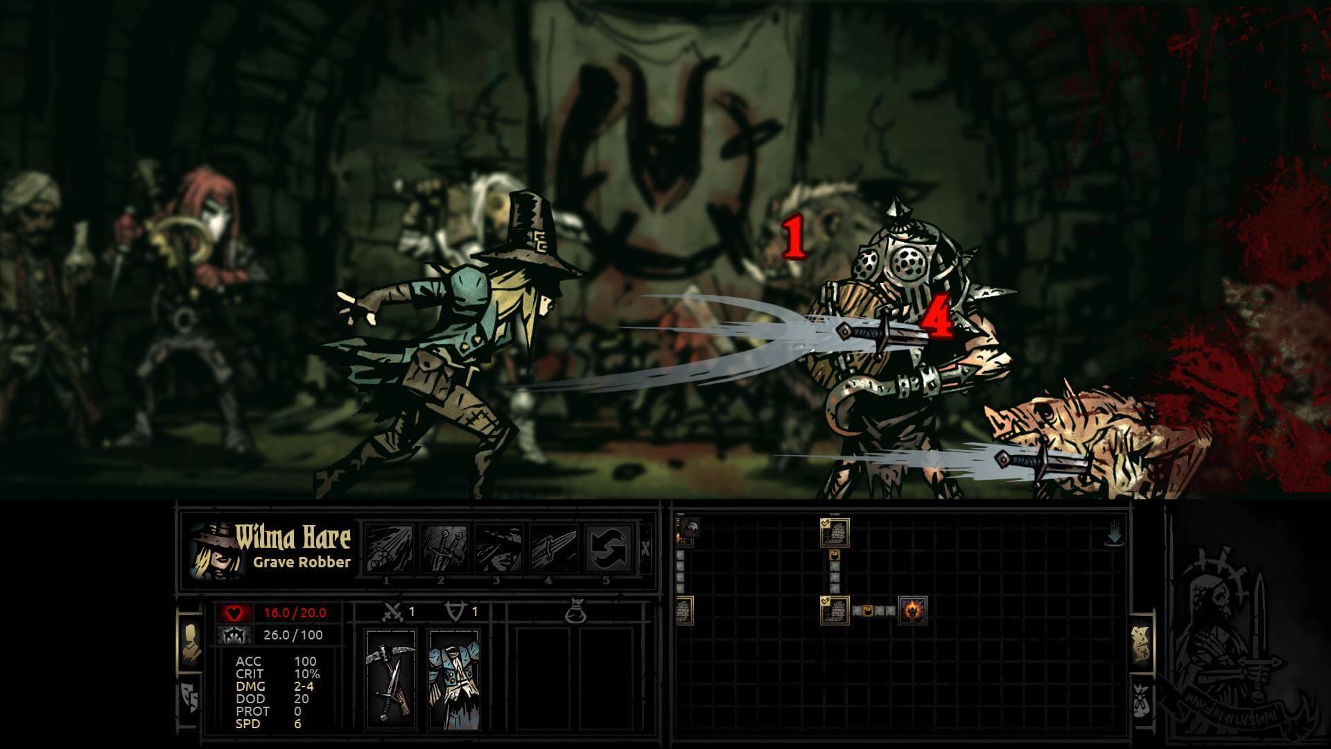 Darkest Dungeon: Grave Robber HQ wallpapers