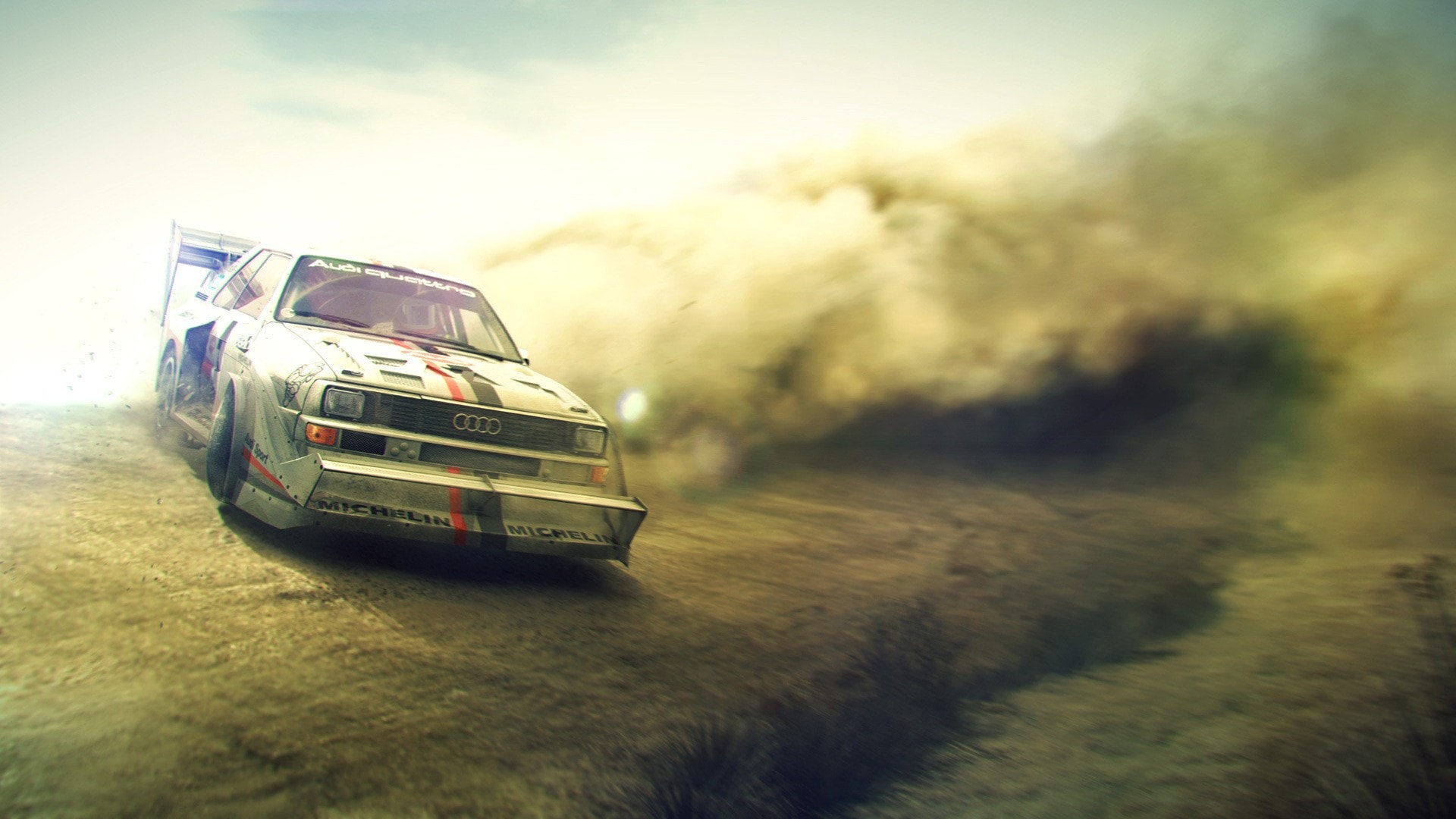 DiRT Rally HQ wallpapers
