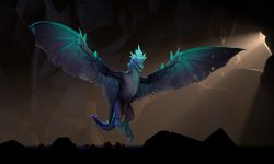 Dota 2 : Winter Wyvern HQ wallpapers
