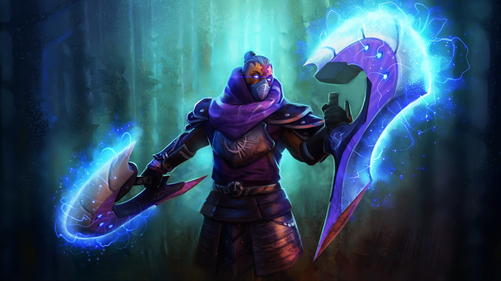 Dota2 : Anti-Mage Background