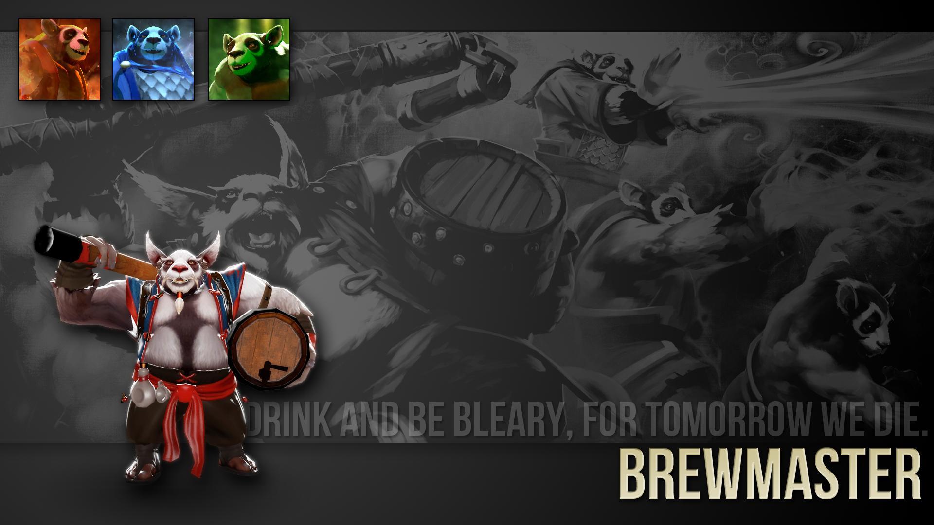 Dota2 : Brewmaster HD pics