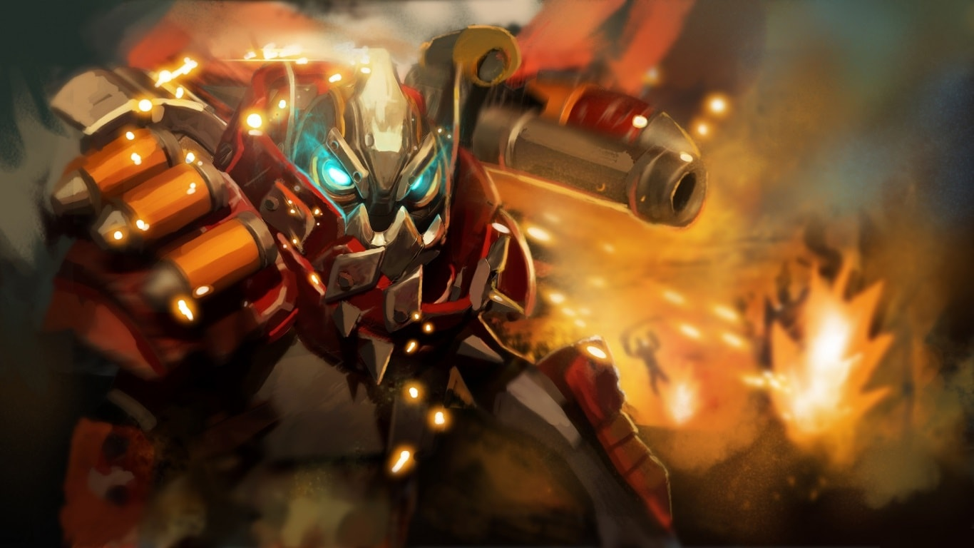 Dota2 : Clockwerk HQ wallpapers
