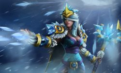Dota2 : Crystal Maiden HQ wallpapers