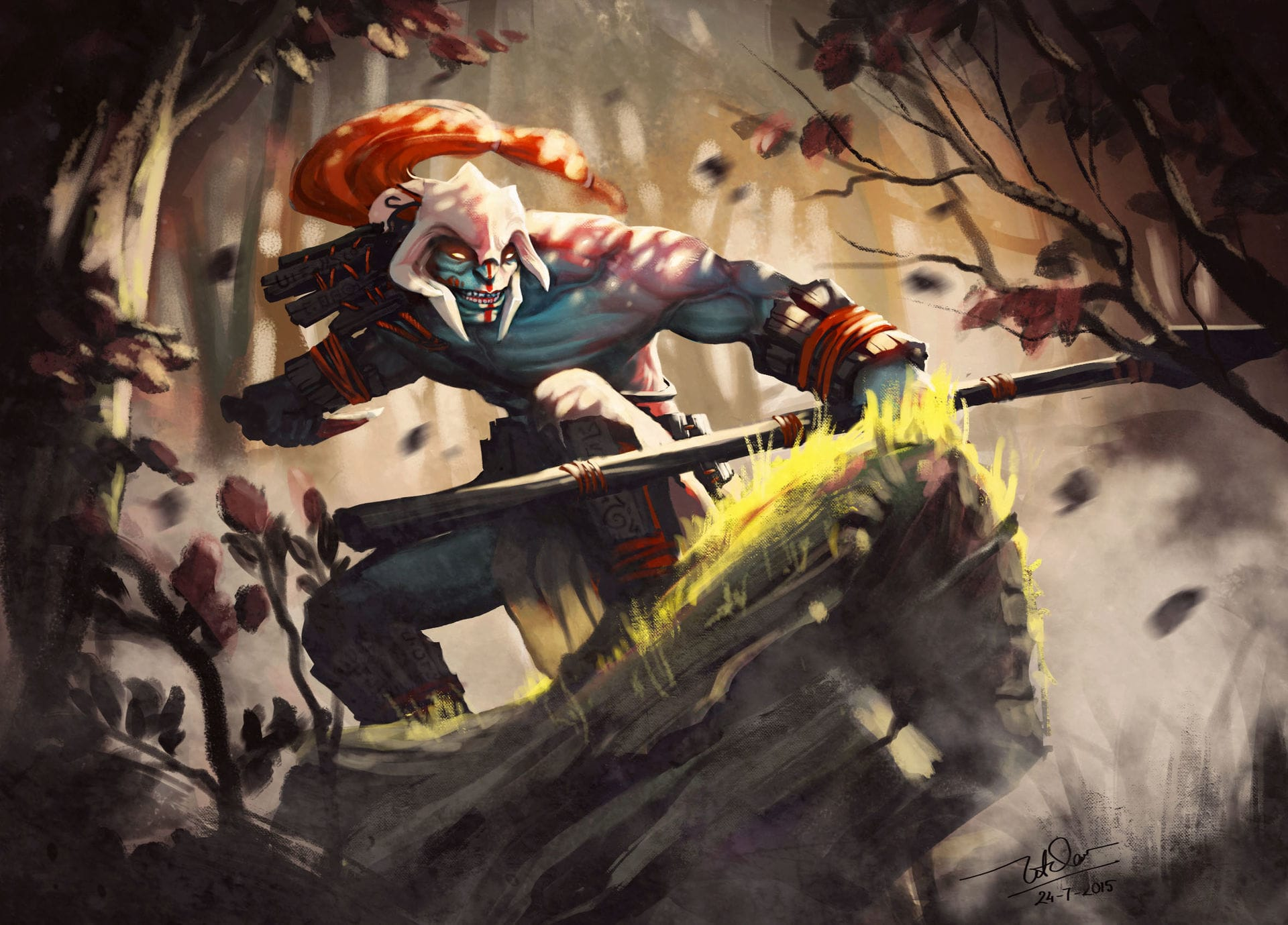 Dota2 : Huskar HQ wallpapers
