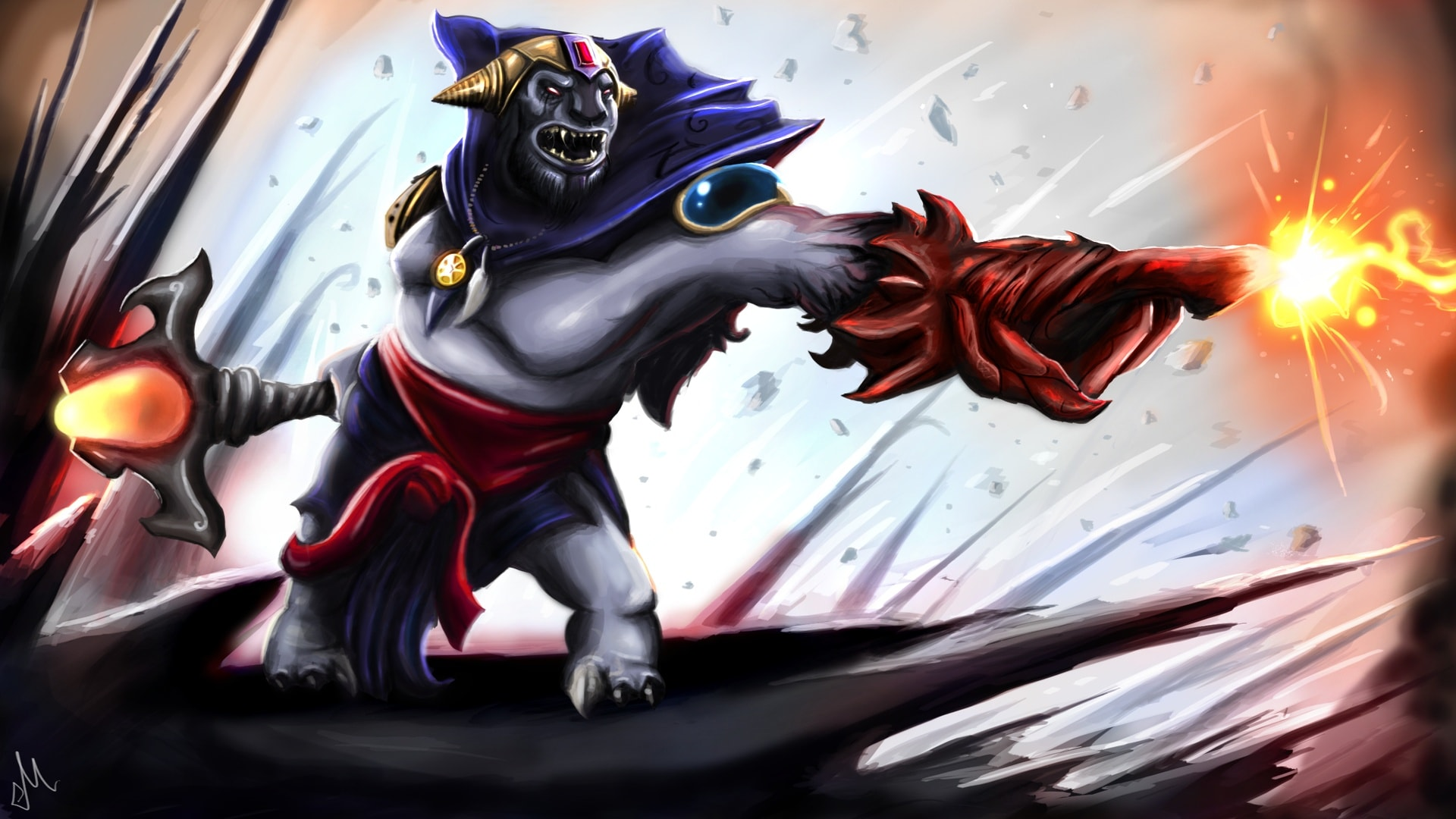 Dota2 : Lion Background