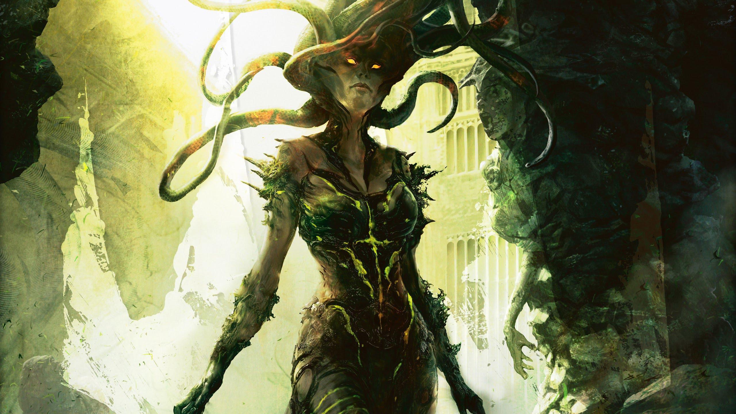 Dota2 : Medusa Background