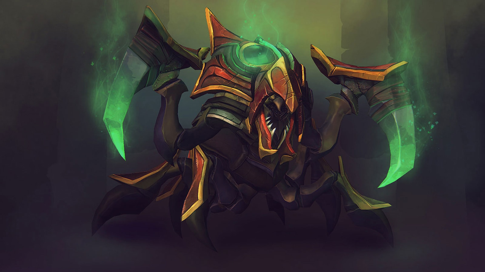 Dota2 : Nyx Assassin Backgrounds