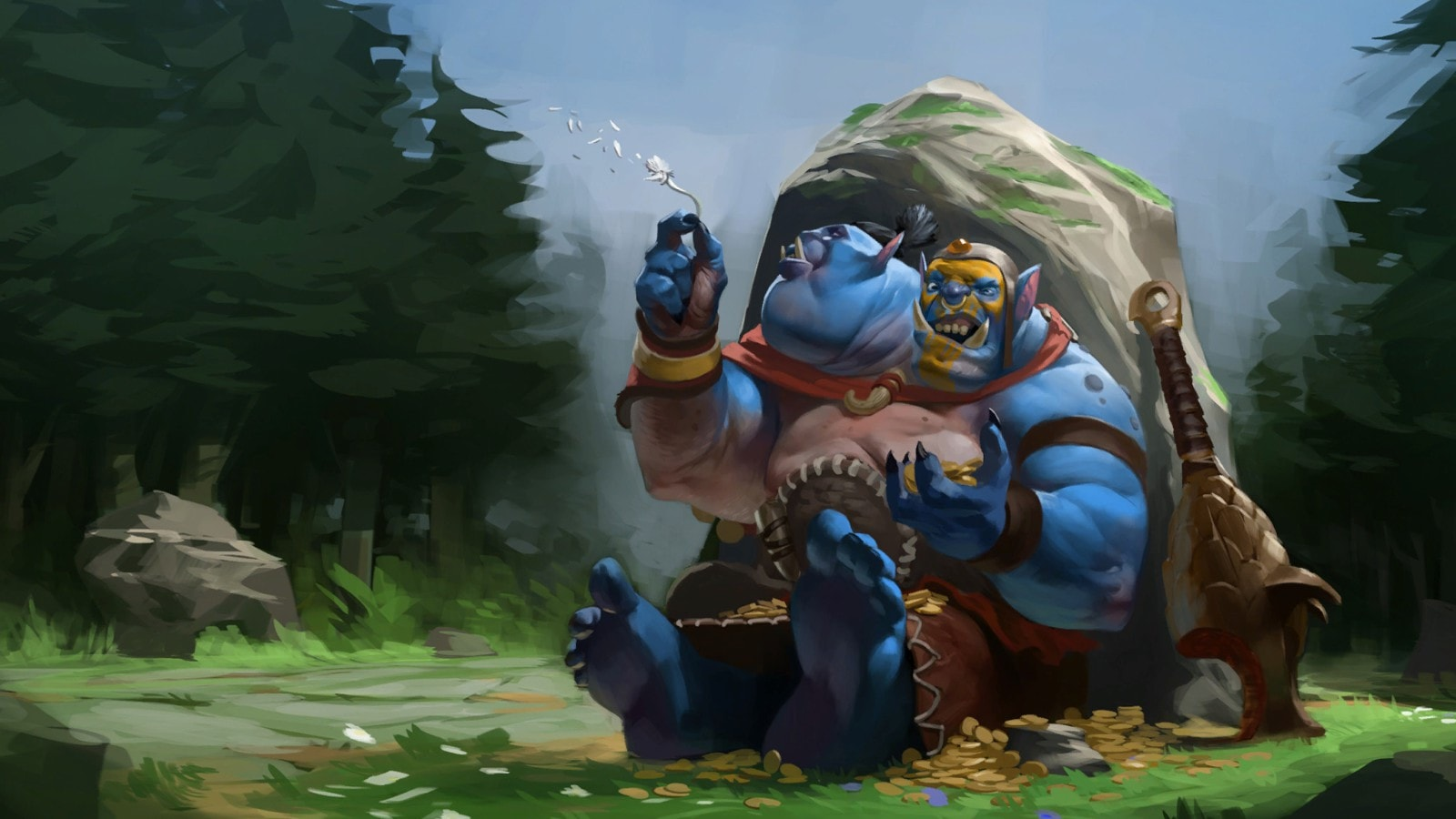 Dota2 : Ogre Magi Backgrounds