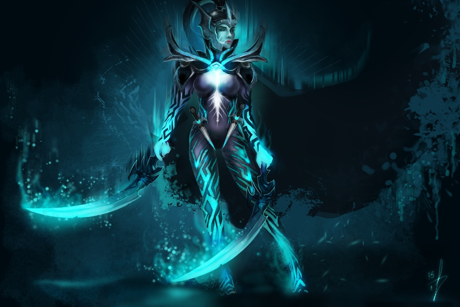 Dota2 : Phantom Assassin Backgrounds