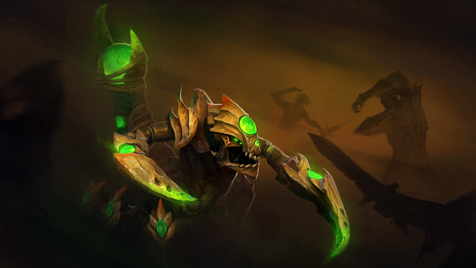 Dota2 : Sand King Backgrounds