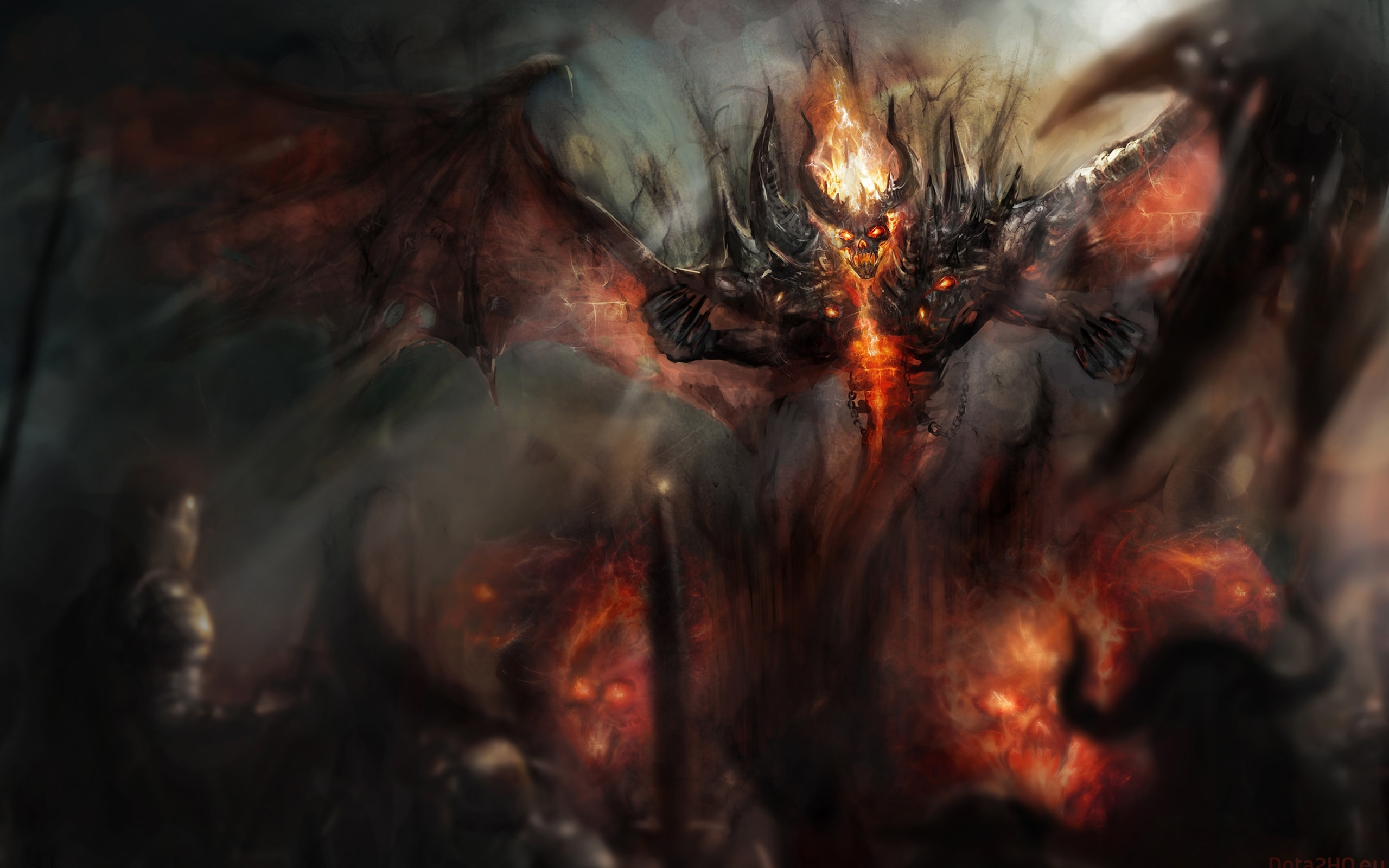 Dota2 Shadow Fiend Wallpaper Backgrounds