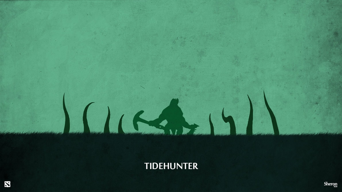 Dota2 : Tidehunter Backgrounds