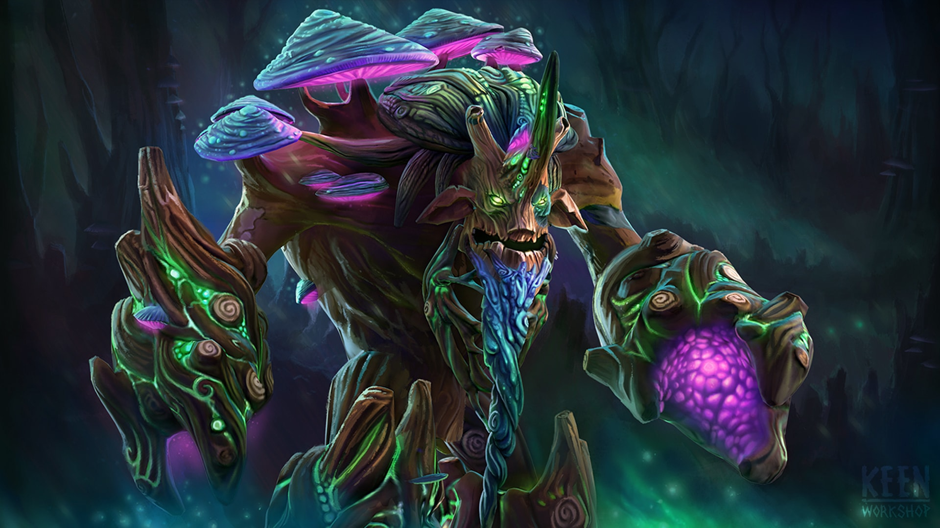 Dota2 : Treant Protector HQ wallpapers