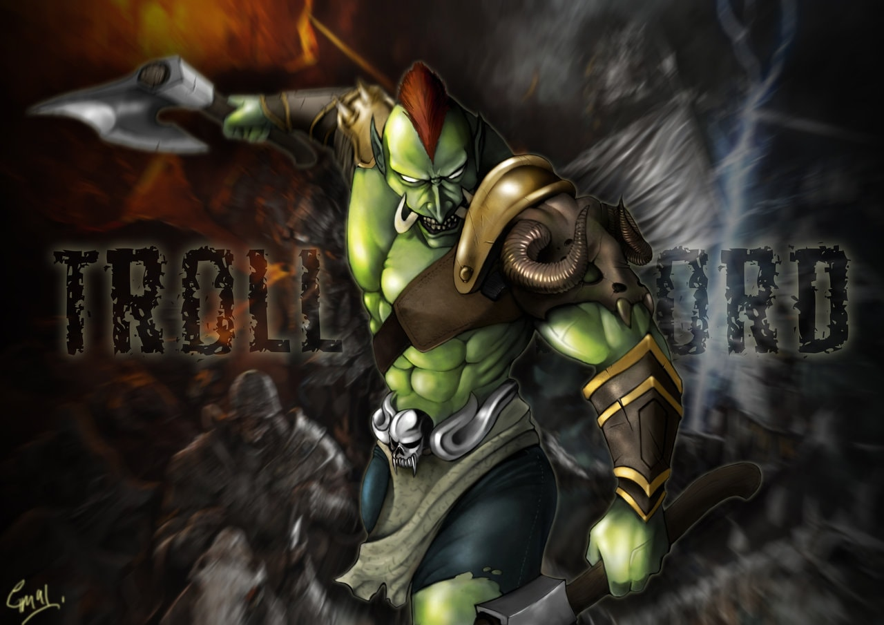 Dota2 : Troll Warlord HD pics