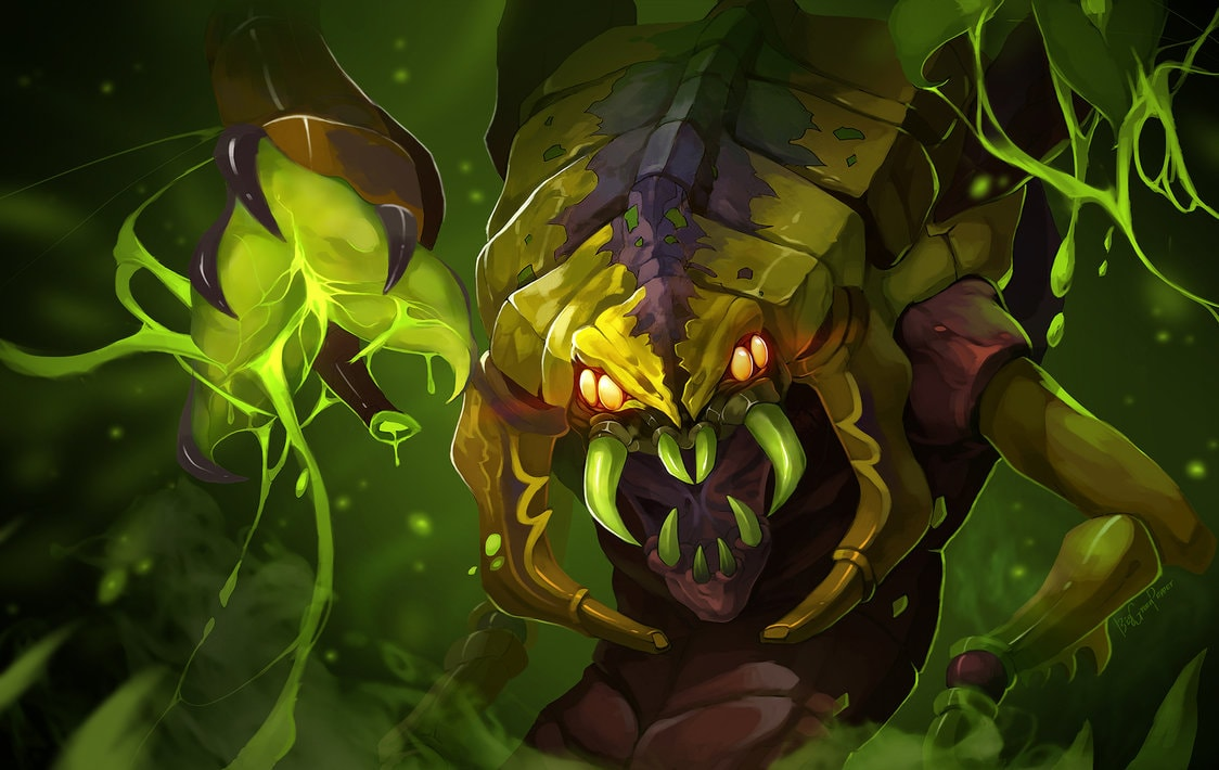 Dota2 : Venomancer Backgrounds