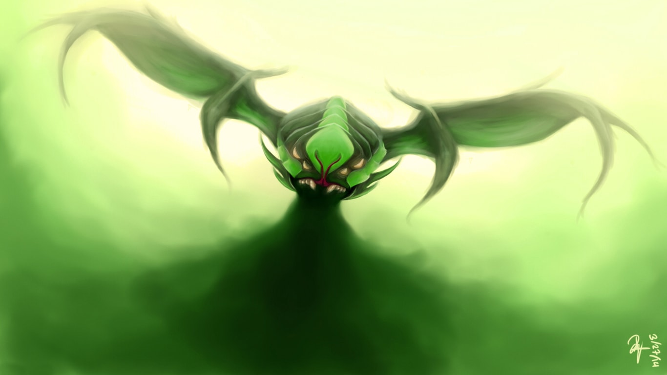 Dota2 : Viper Background