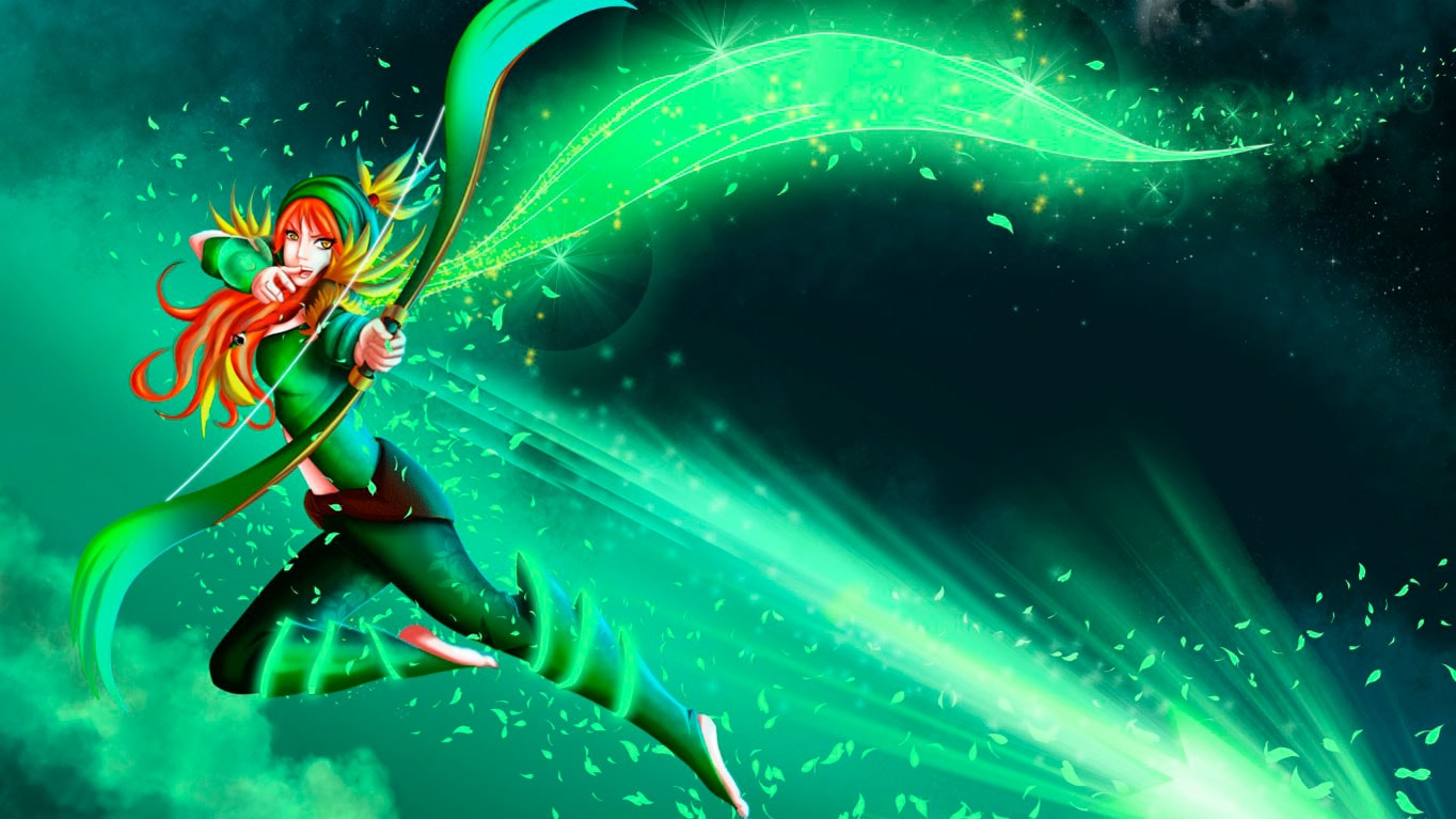 Dota2 : Windranger HQ wallpapers