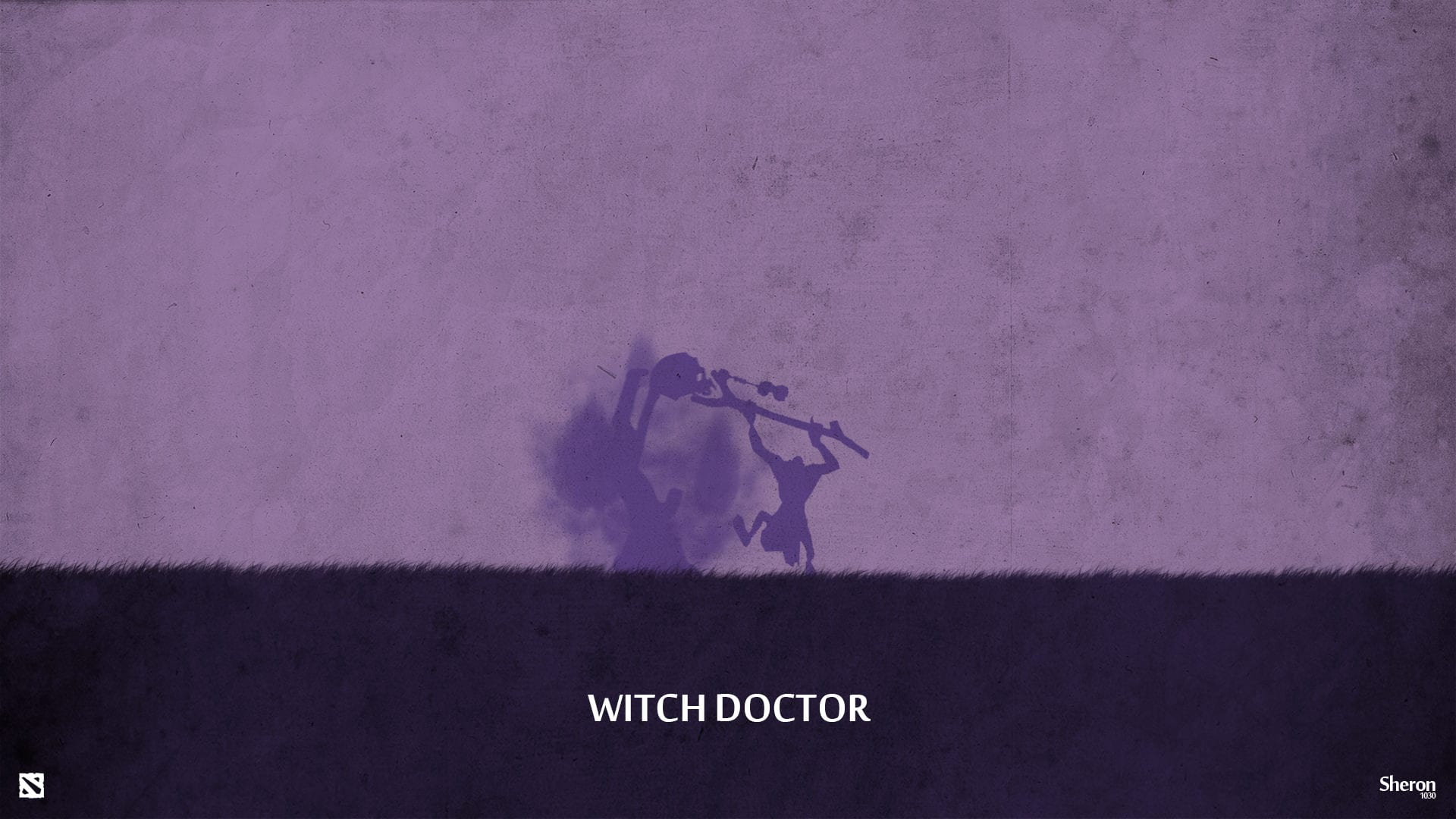 Dota2 : Witch Doctor Backgrounds