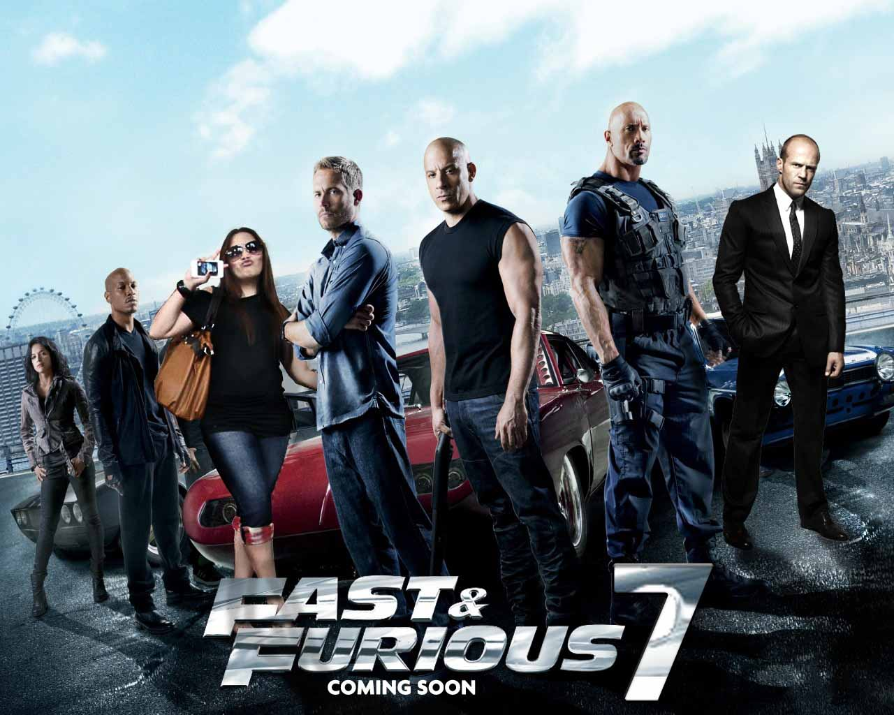 Fast & Furious 7 HQ wallpapers