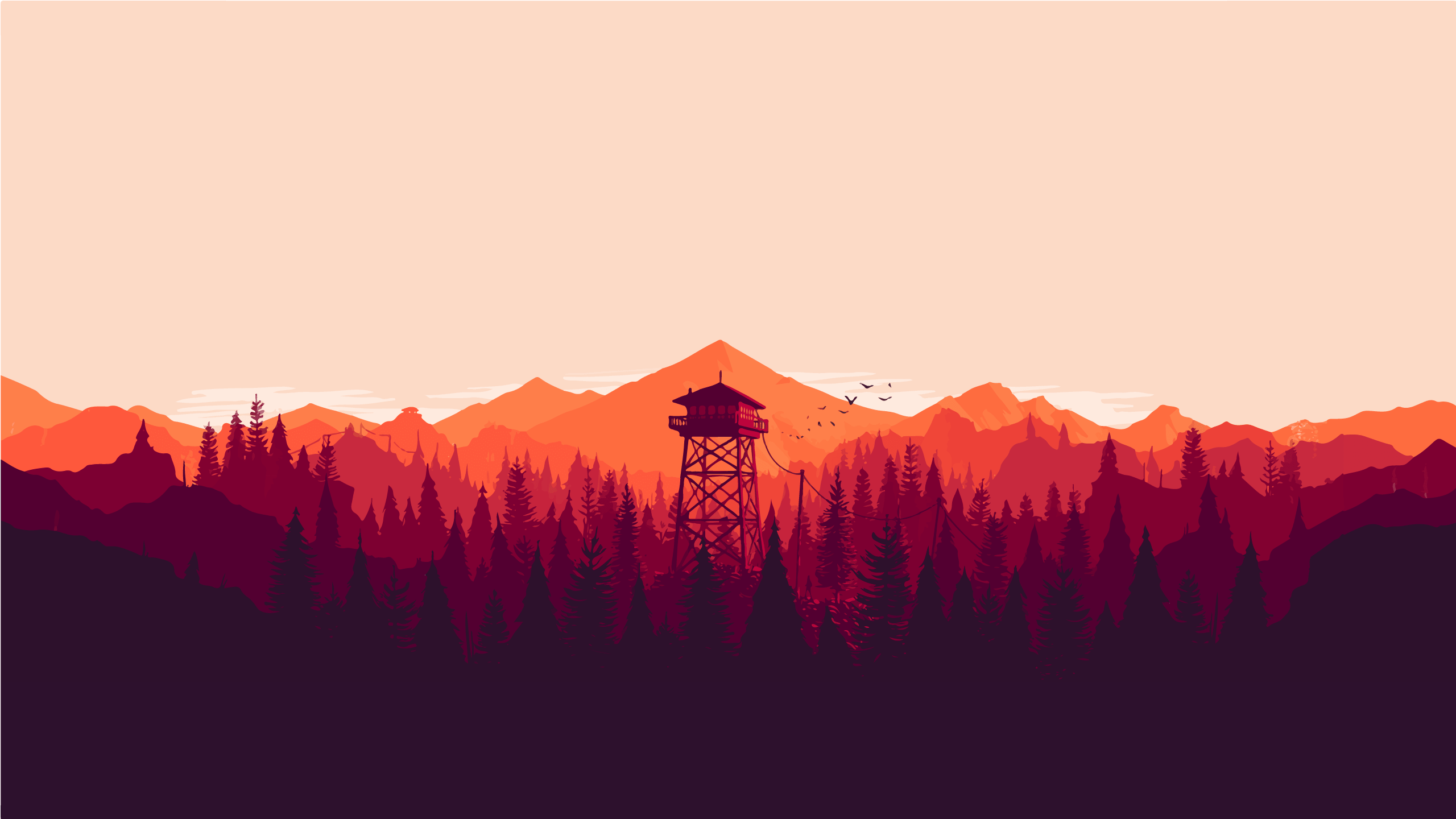 Firewatch HQ wallpapers