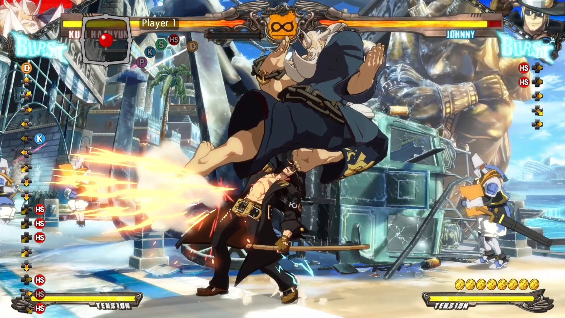 Guilty Gear: Kum Haehyun HD pics