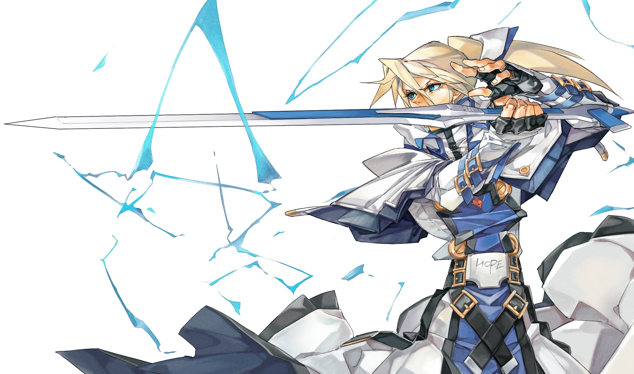 Guilty Gear: Ky Kiske HQ wallpapers