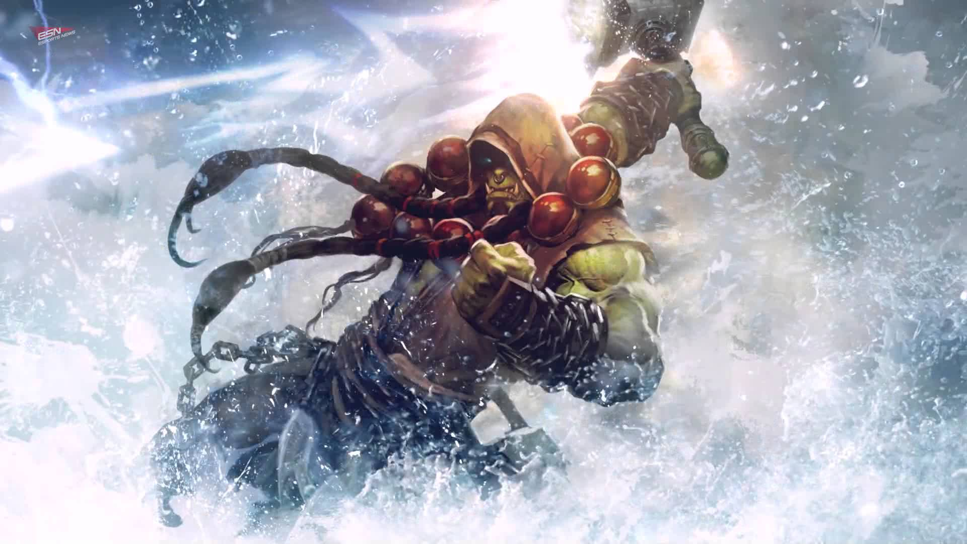 Hearthstone: Thrall full hd wallpapers