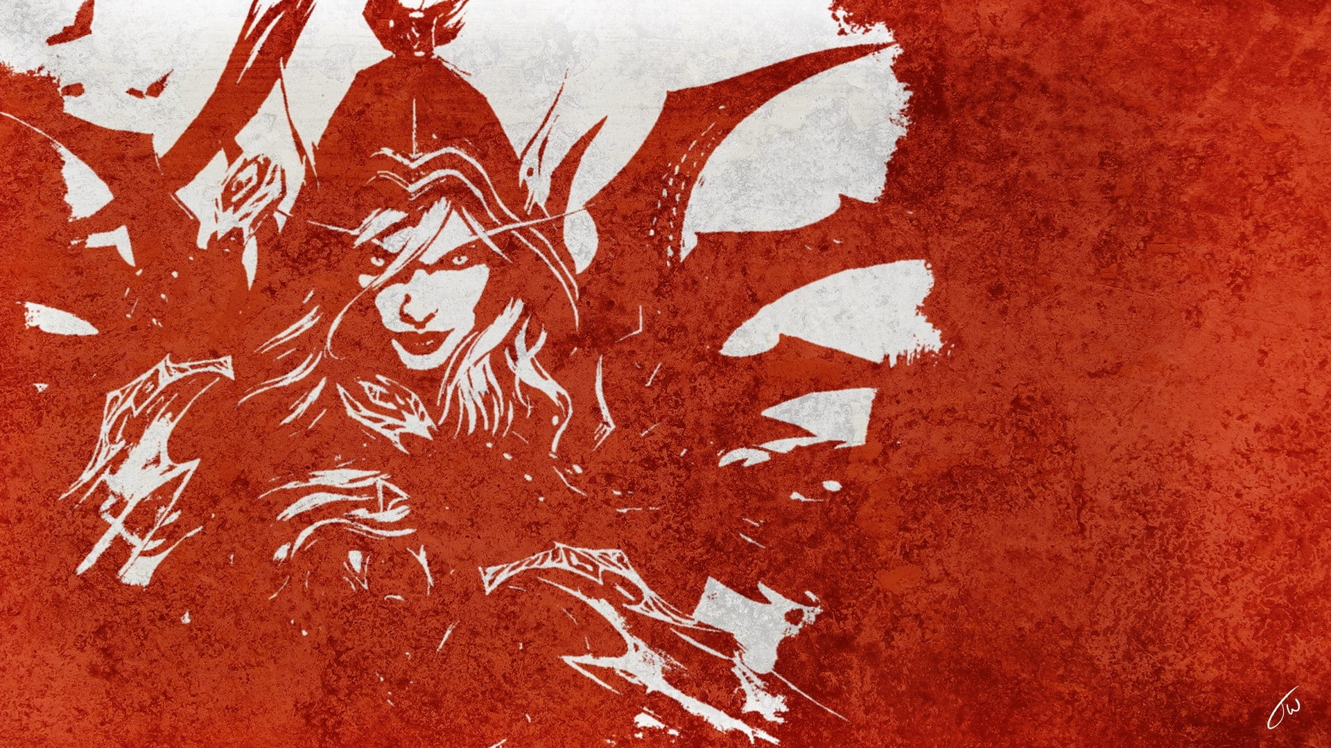 Hearthstone: Valeera Sanguinar Desktop wallpapers