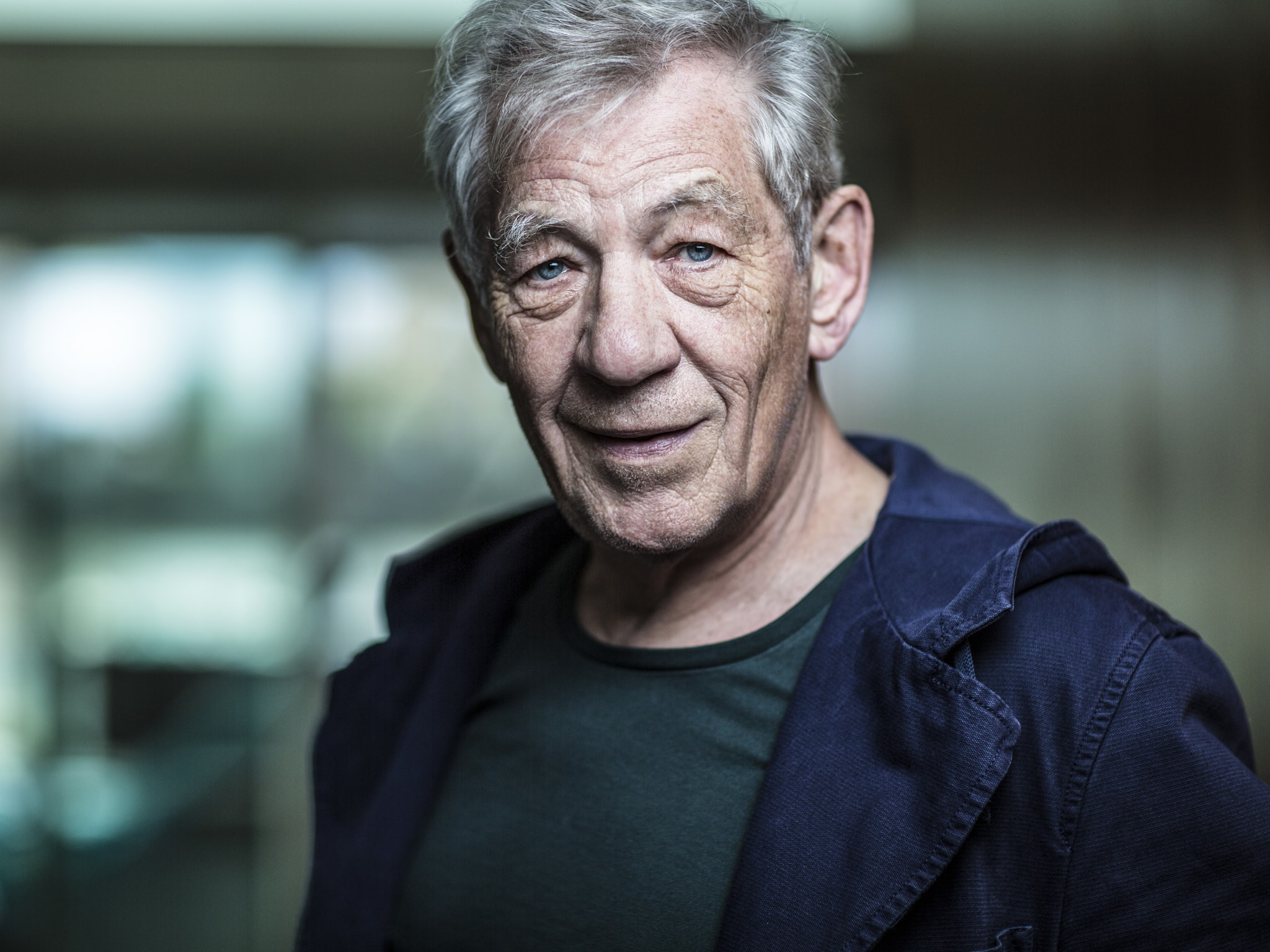 photo Ian McKellen (born 1939)